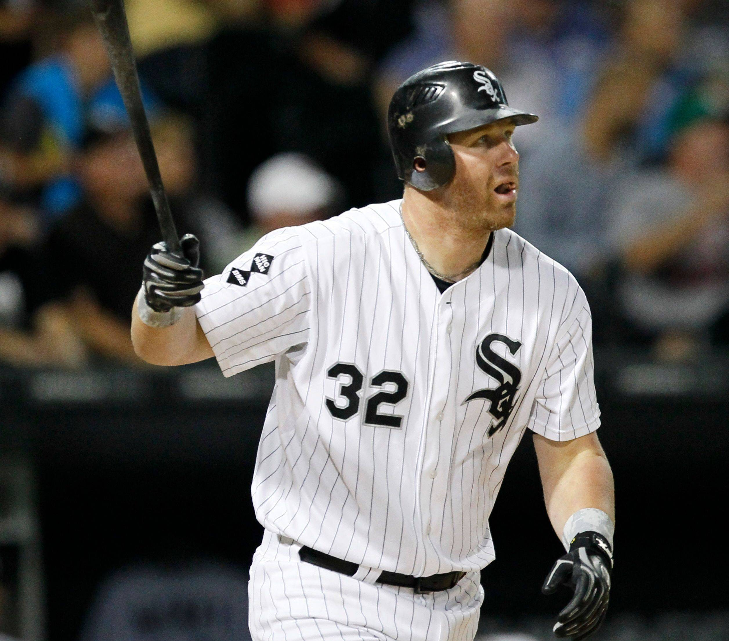 Adam Dunn had a nice bounceback season in 2012 with 41 home runs and 96 RBI. He still struck out at an alarming rate, though, finishing with a major-league-high 222.