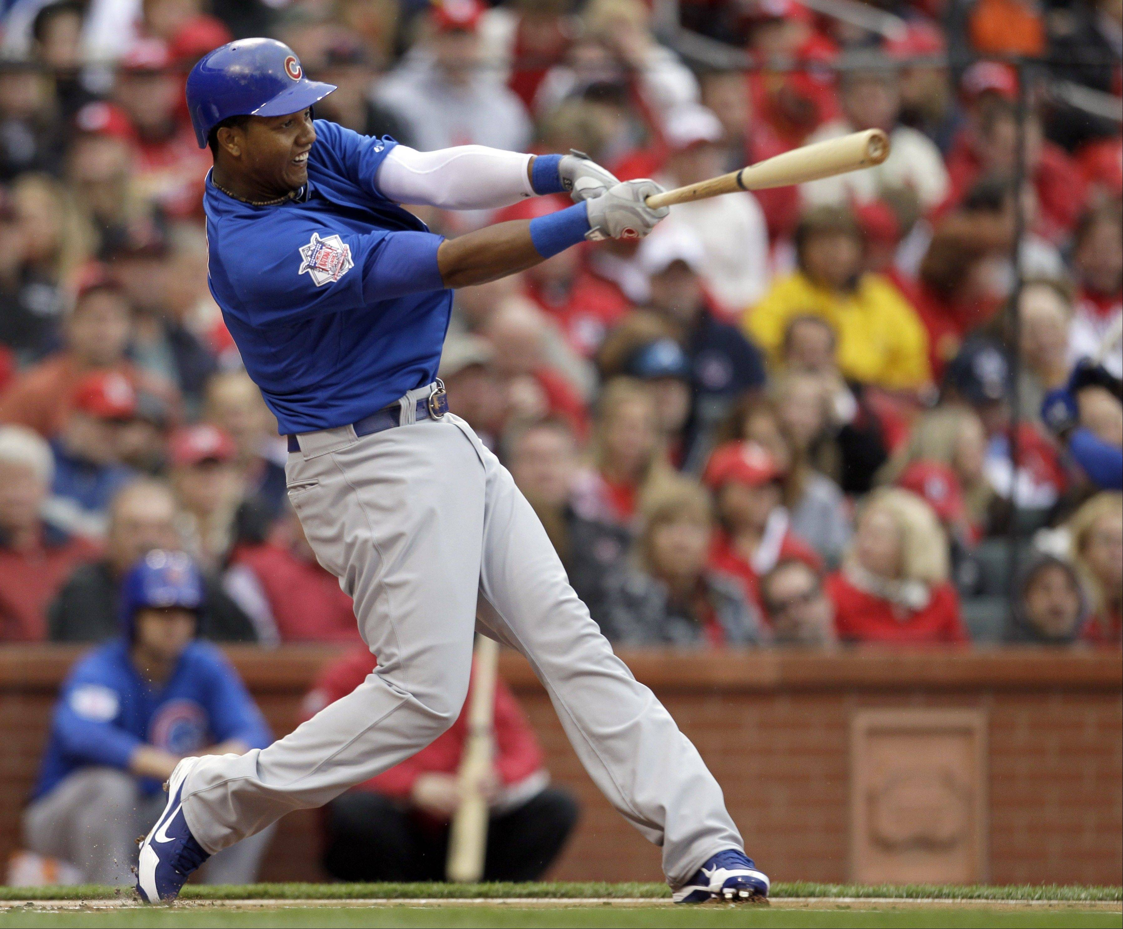 Starlin Castro had a .332 on-base percentage after the all-star break last season.