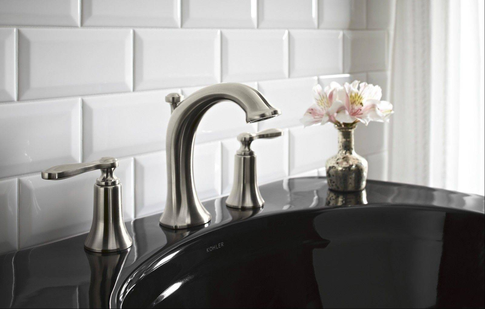 Today�s faucet finishes are very durable, but you should always clean with care. Use nonabrasive mild cleaners, rinse thoroughly with a soft damp cloth, then blot dry.