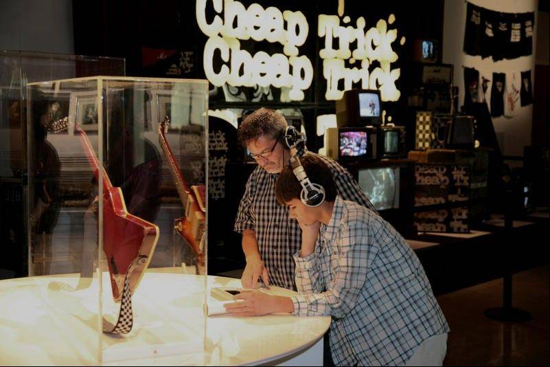 "Don't miss ""Rick's Picks,"" a unique exhibit that tells the story of Cheap Trick guitarist/songwriter Rick Nielsen at the Burpee Museum of Natural History in Rockford."