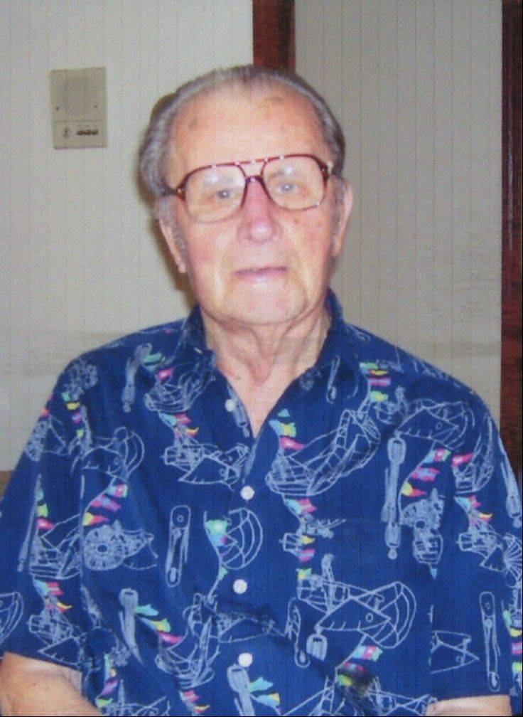 Former Mt. Prospect trustee and River Trails school board member Theodore Wattenberg, pictured here before his 100th birthday, died Saturday at age 104.