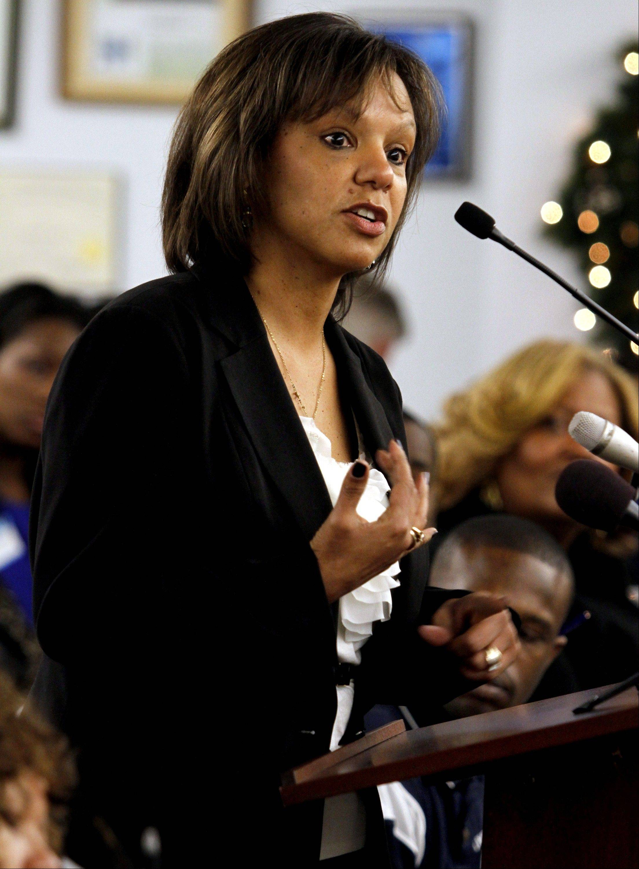 Former state Rep. Robin Kelly is running to replace former Congressman Jesse Jackson Jr. A special election will be held Feb. 26.