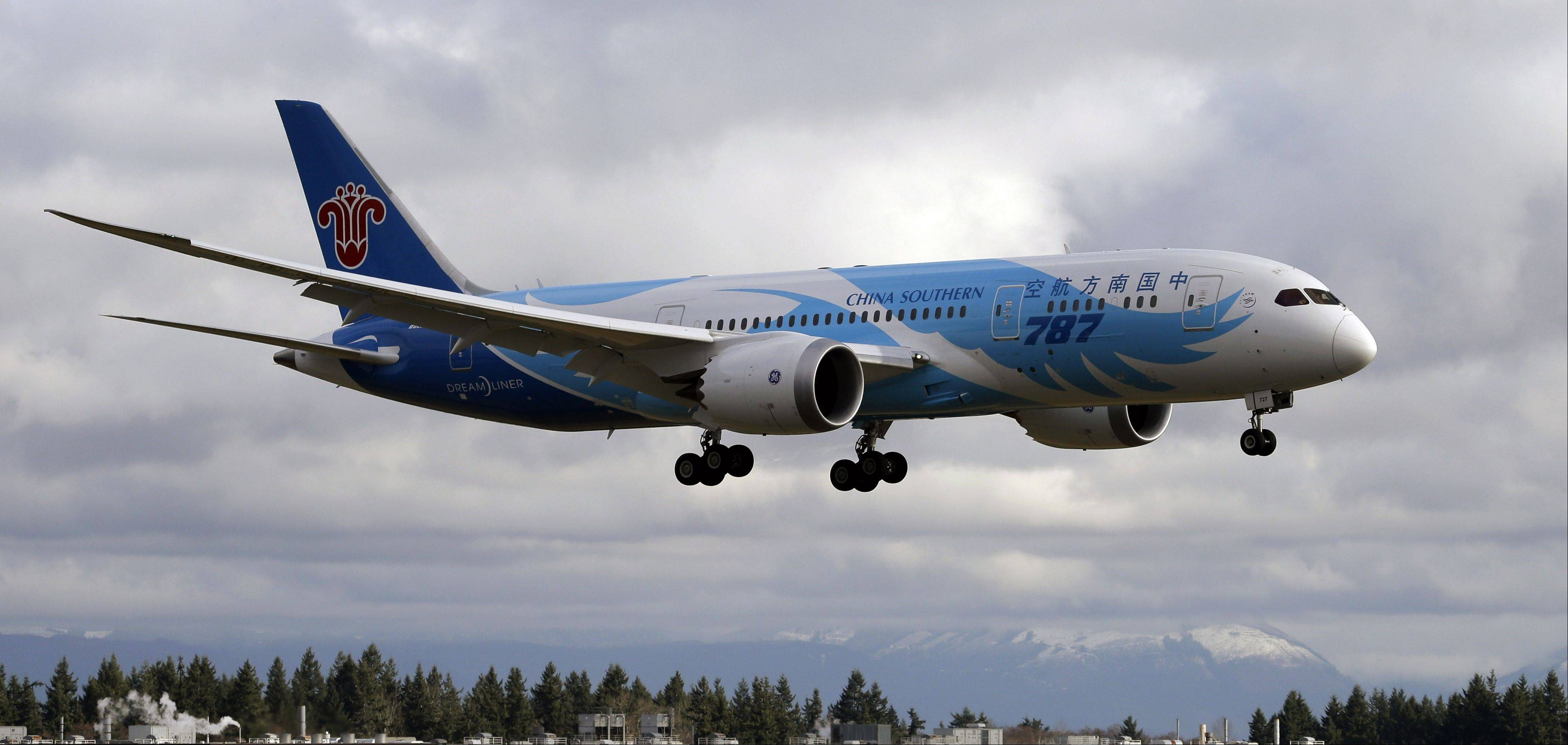 Boeing conducted another test flight of a 787 Dreamliner on Monday, the second since the FAA grounded Boeing's newest airliner in January.