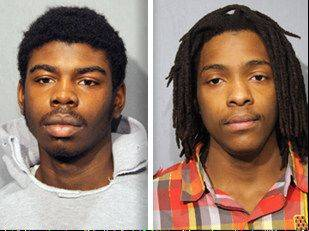 ASSOCIATED PRESSThese undated booking photo provided by the Chicago Police Department show Kenneth Williams, 20, of Chicago on the right and Michael Ward, 18, of Chicago on the left. These two men are charged with murder Monday, Feb. 11, 2013, in the death of 15-year-old Hadiya Pendleton, of Chicago. Pendleton was shot to death Jan. 29 in a park about a mile from President Barack Obama's home on Chicago's South Side. Just days before her death, the band majorette was among the performers at events for Obama's inauguration.