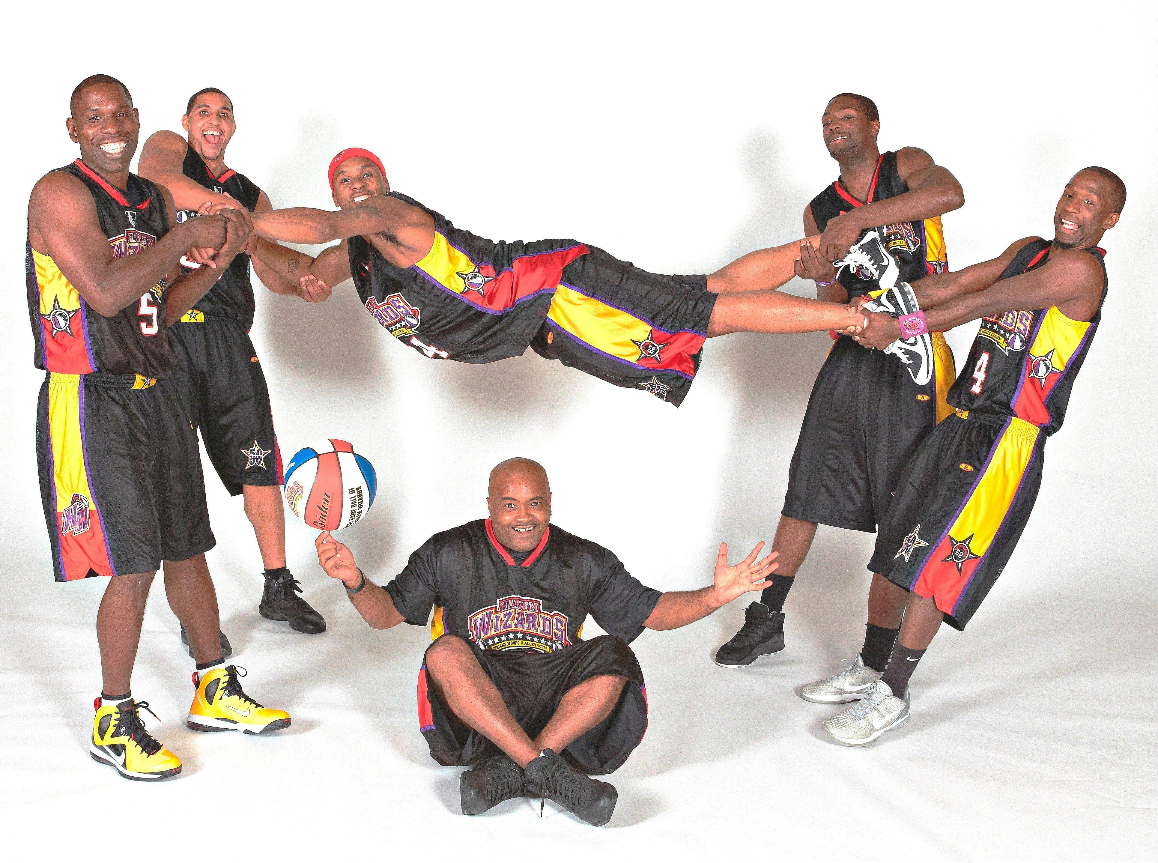 The popular Harlem Wizards will take on local school teachers, administrators and community members, including South Elgin police and firefighters, in a game featuring their slams, world-class tricks, precision teamwork and theatrical style humor on Friday, Feb. 15.