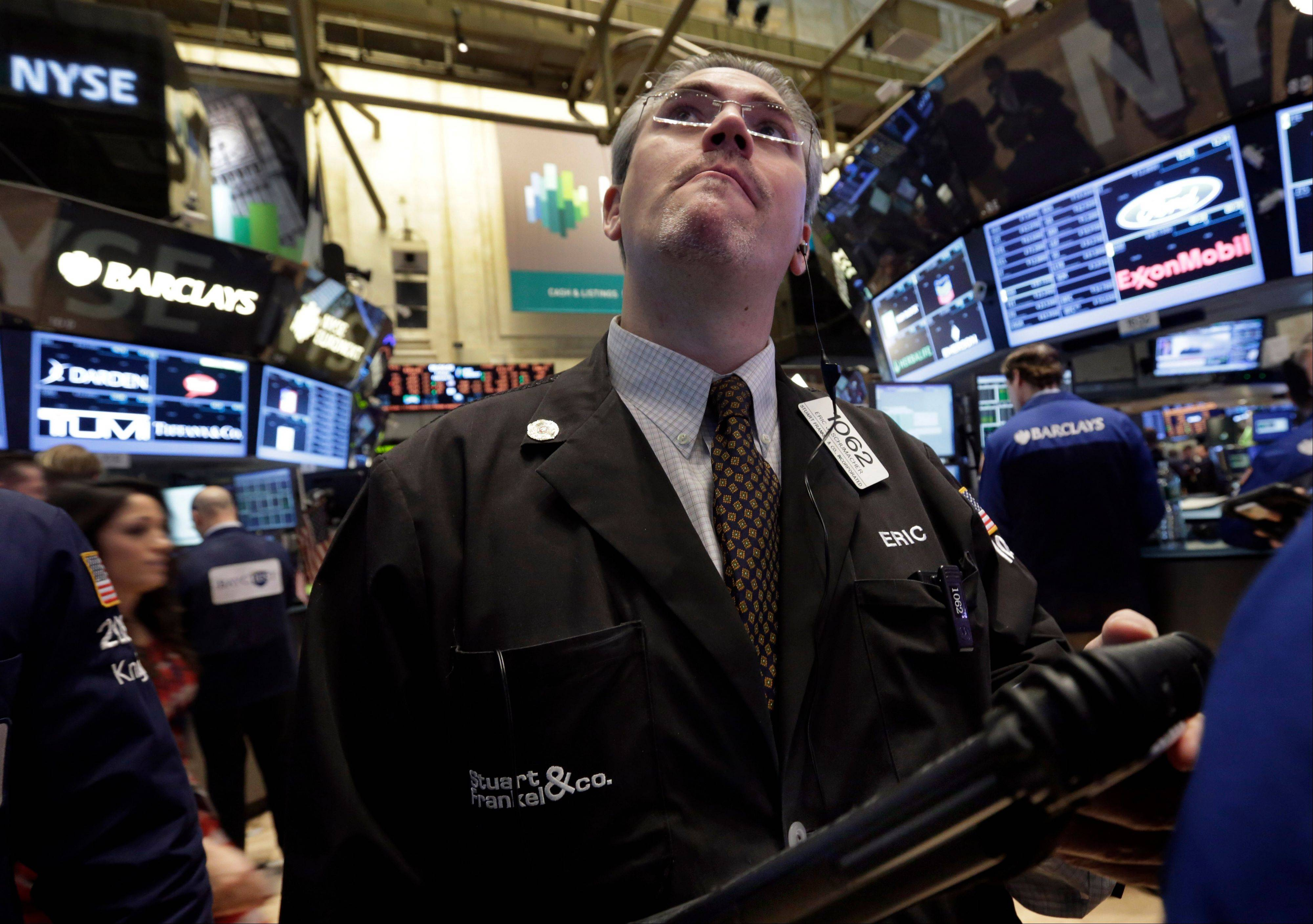 U.S. stocks advanced, sending benchmark indexes to five-year highs, as earnings topped estimates and investors awaited President Barack Obama�s State of the Union address.