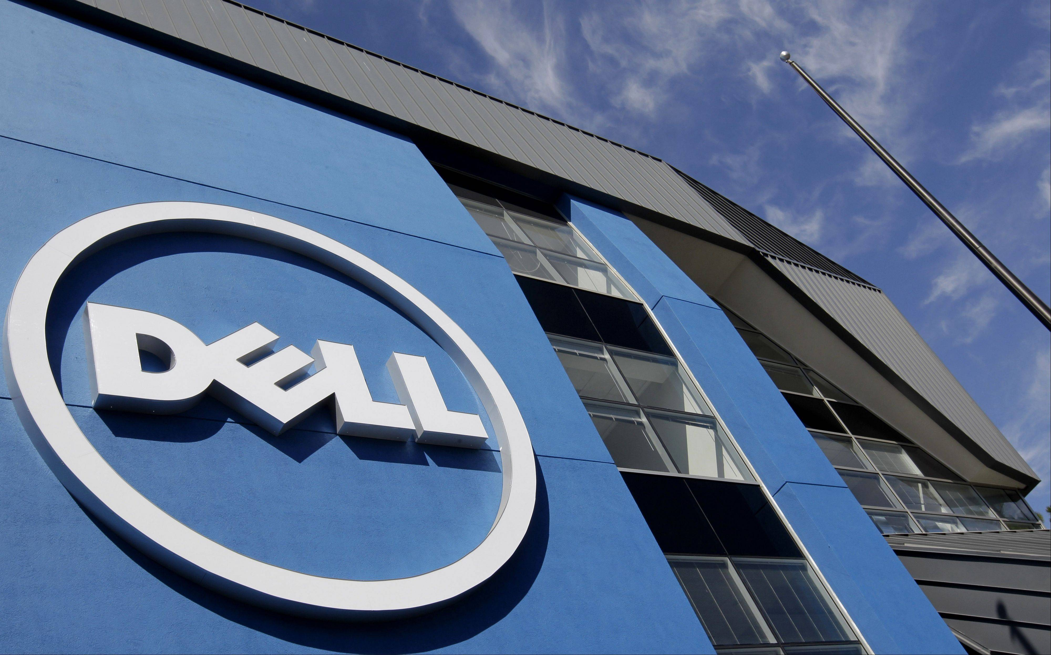 Dell Inc., which last week agreed to be taken private, closed above the offer price for the first time since the announcement after the computer maker�s largest outside shareholder said the proposed deal undervalues it.
