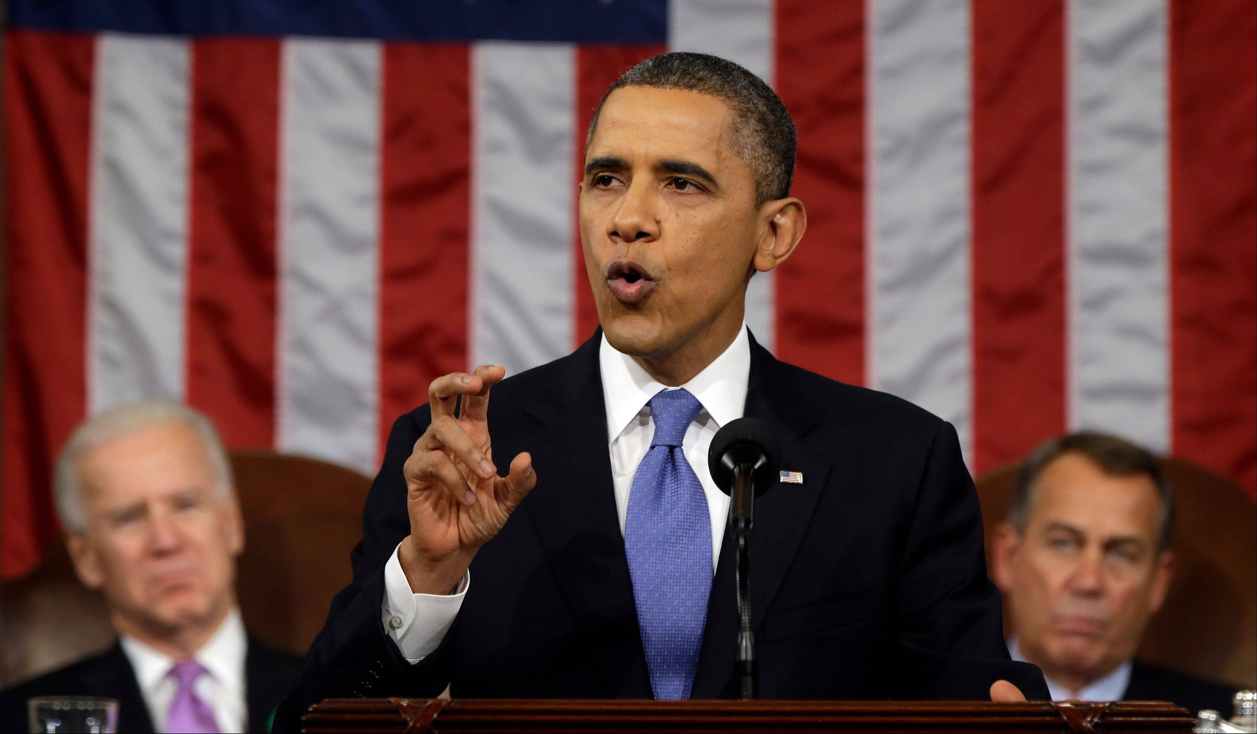 Text of Obama's State of the Union address