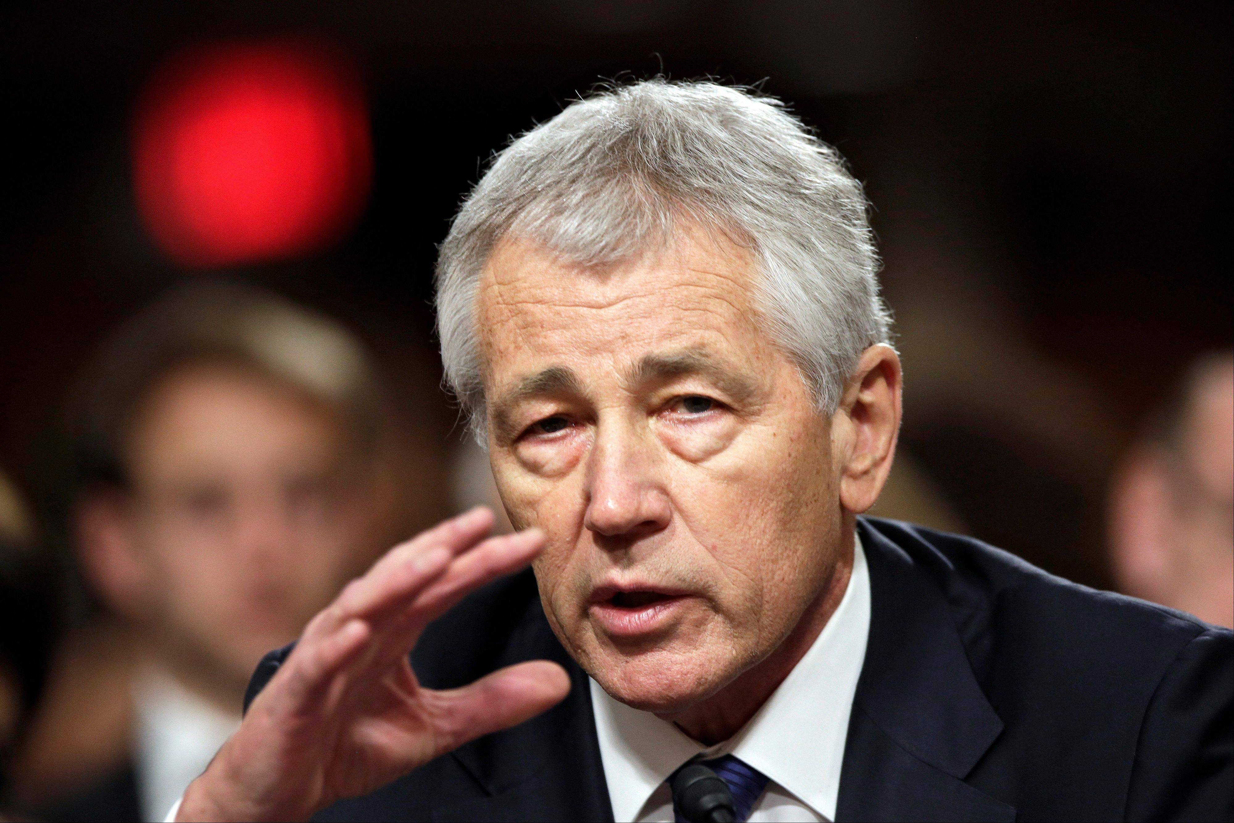 Chuck Hagel � Republican, twice-wounded Vietnam combat veteran and former Nebraska senator � cleared his first major hurdle in his bid to become the nation�s defense secretary when a bitterly divided Senate Armed Services Committee approved his nomination.
