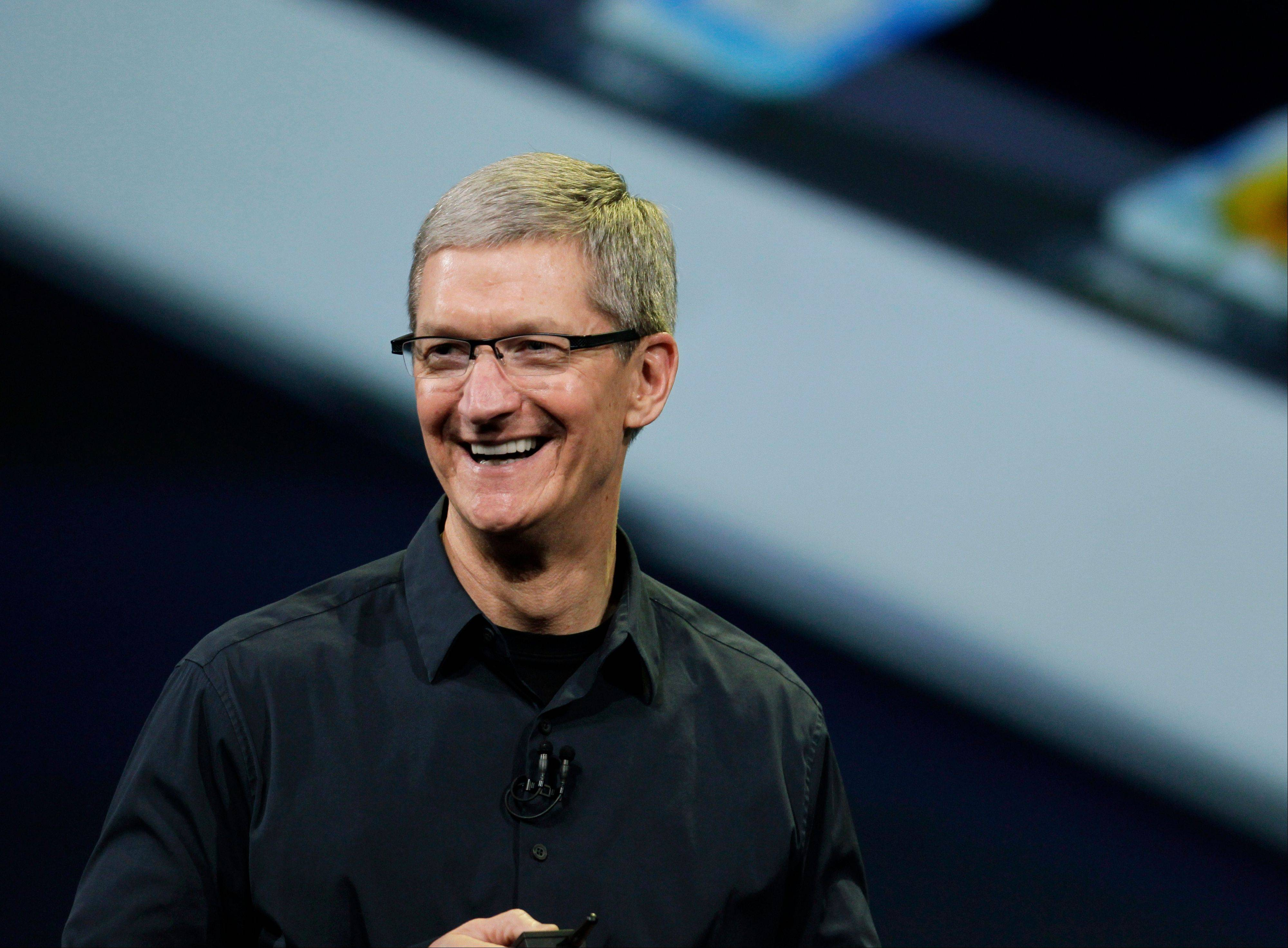 "Apple CEO Tim Cook is calling a shareholder lawsuit against the company a ""silly sideshow,"" even as he said he is open to looking at the shareholder's proposals for sharing more cash with investors."
