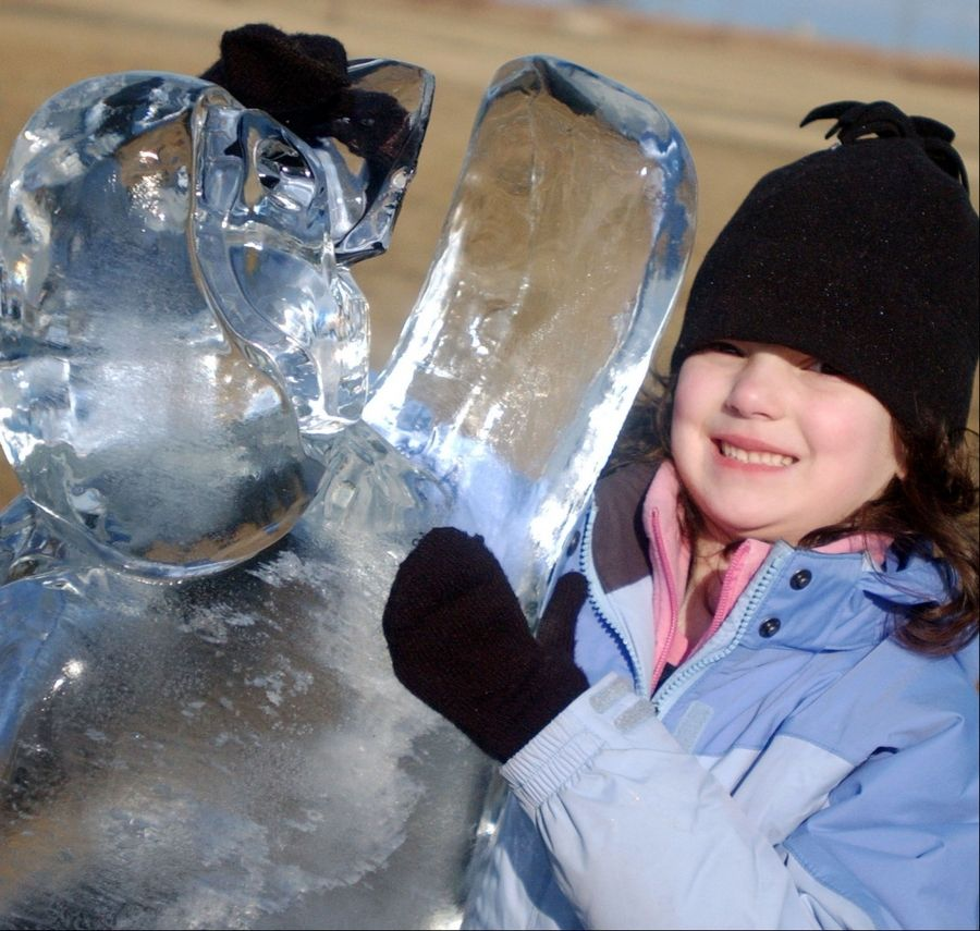 The Chicago Park District's 8th annual Polar Adventure Days winds down at Northerly Island near the Museum Campus in Chicago.