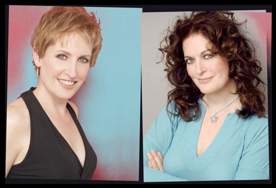 "Sisters Liz Callaway, left, and Ann Hampton Callaway sing in ""Sibling Revelry"" at Viper Alley in Lincolnshire."