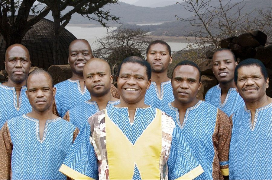 Ladysmith Black Mambazo is set to perform at the Elgin Community College Arts Center.