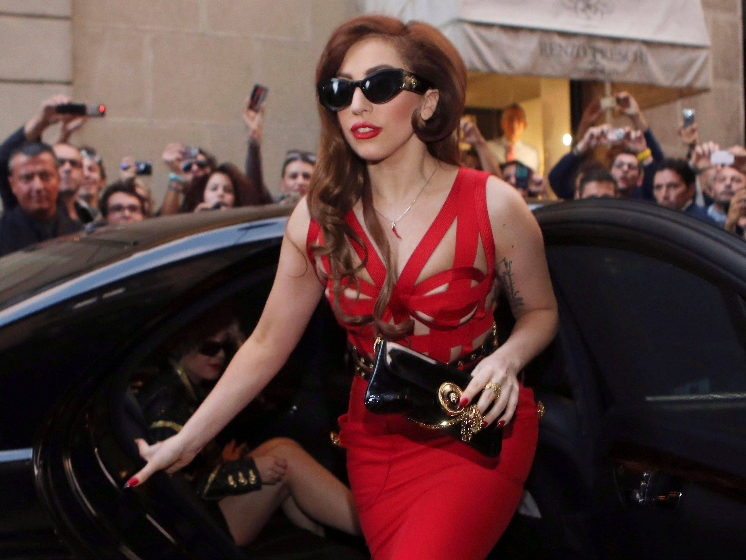 "Lady Gaga postponed her two Chicago shows, citing ""severe inflammation of the joints."""