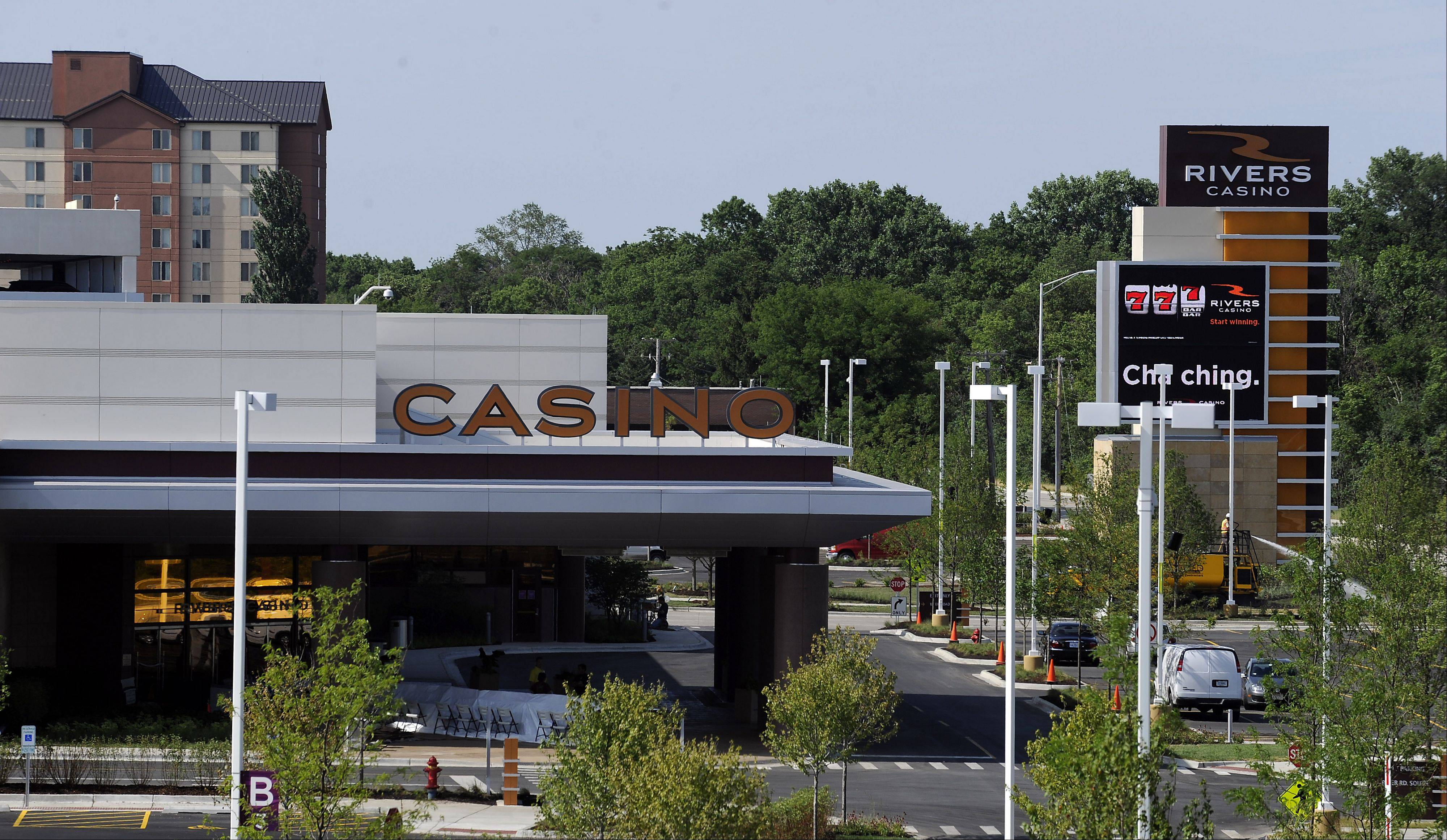 Rivers Casino in Des Plaines, which opened July 18, 2011, is the state's highest grossing casino. Candidates for Des Plaines' open mayor's seat say the city should take steps to protect Rivers revenues.