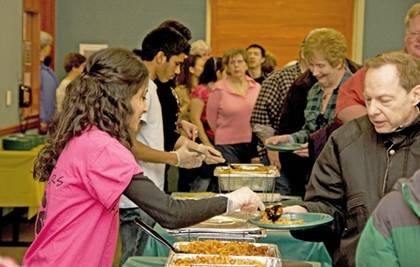 Teens from high school cultural clubs will serve samples of ethnic foods during the Ethnic Food Fest on Saturday, Feb. 25 at the Schaumburg Township District Library.