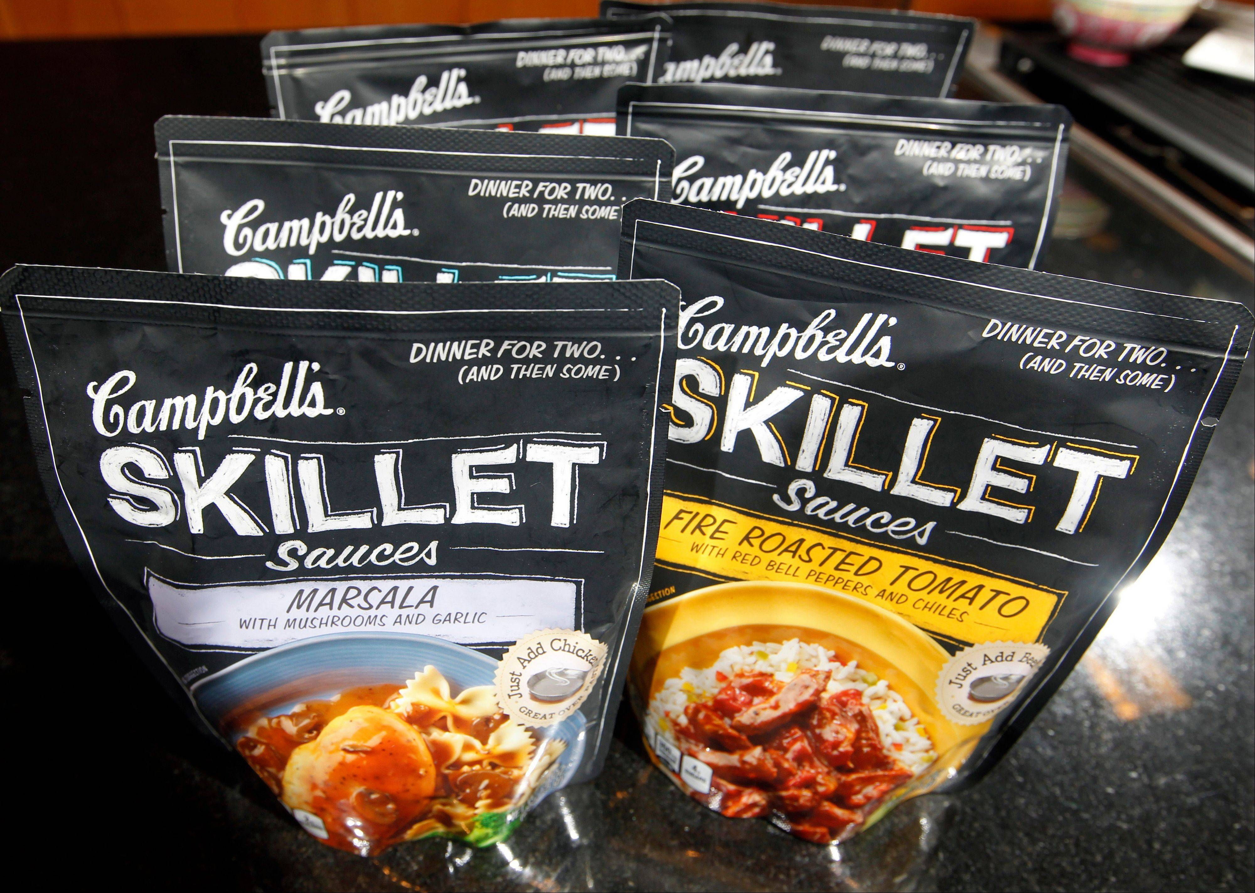 Campbell's new Skillet sauces. As more people try their hand at mimicking sophisticated recipes from cooking shows and blogs, food companies are rolling out meal kits and starters that make amateur chefs feel like Emeril Lagasse or Rachael Ray in the kitchen.