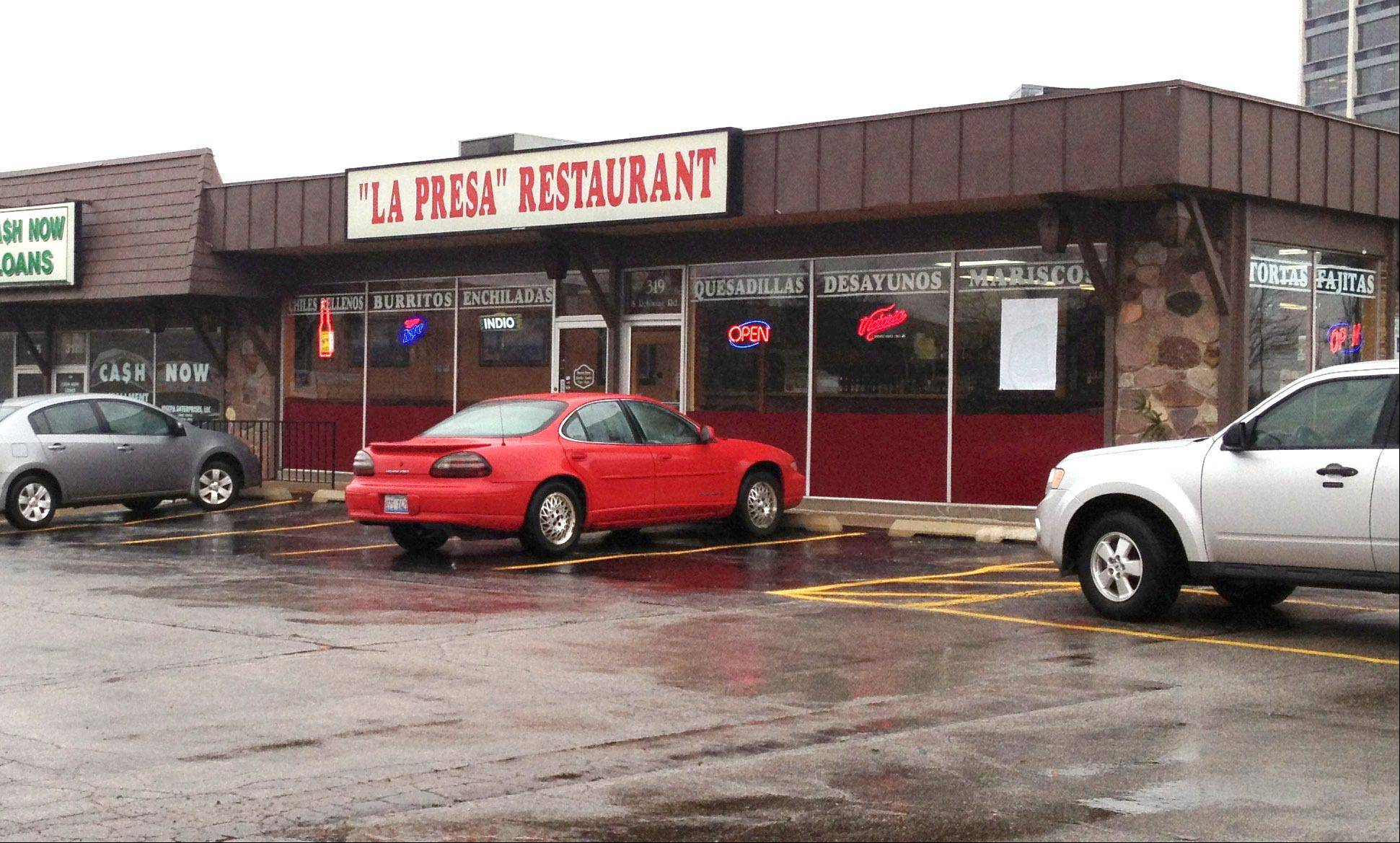 La Presa, 319 S. Rohlwing, faces a two-week suspension of its business license because of a drug sale on the premises, but appears to have avoided a complete revocation of its license.