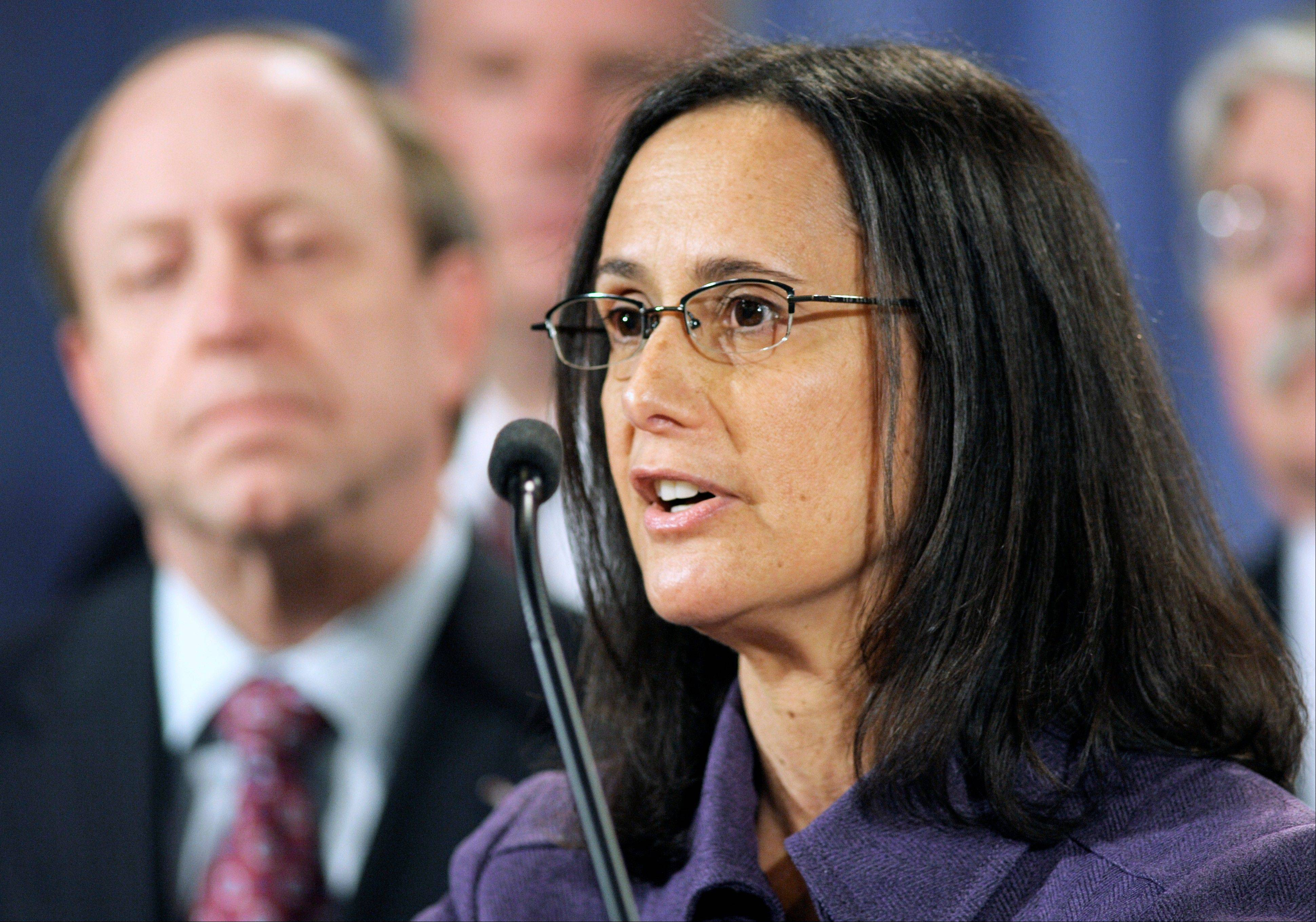 Attorney General Lisa Madigan have refused to defend the suit, claiming the gay marriage ban violates the Illinois Constitution.