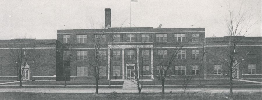 The old Geneva High School on Peyton Street became Coultrap Junior High School in the fall of 1958 and eventually an elementary school. The Geneva school board plans to demolish the building, the oldest part of which opened in 1923.