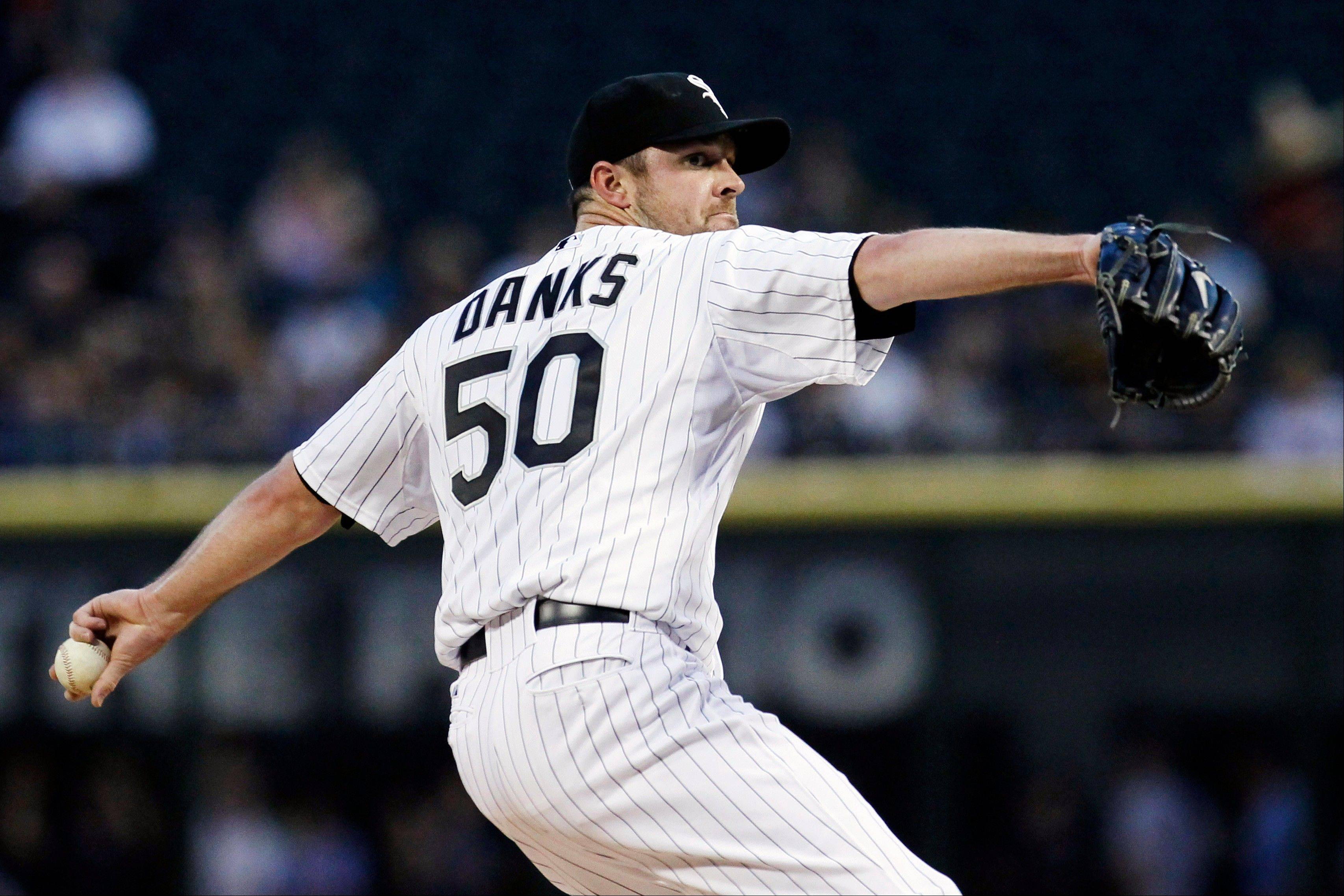 White Sox starting pitcher John Danks is not expected to make his first Cactus League start until March 4.