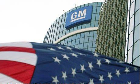 General Motors says its fourth-quarter net profit nearly doubled as it made a dizzying array of accounting moves due to tax credits and devaluing European assets.