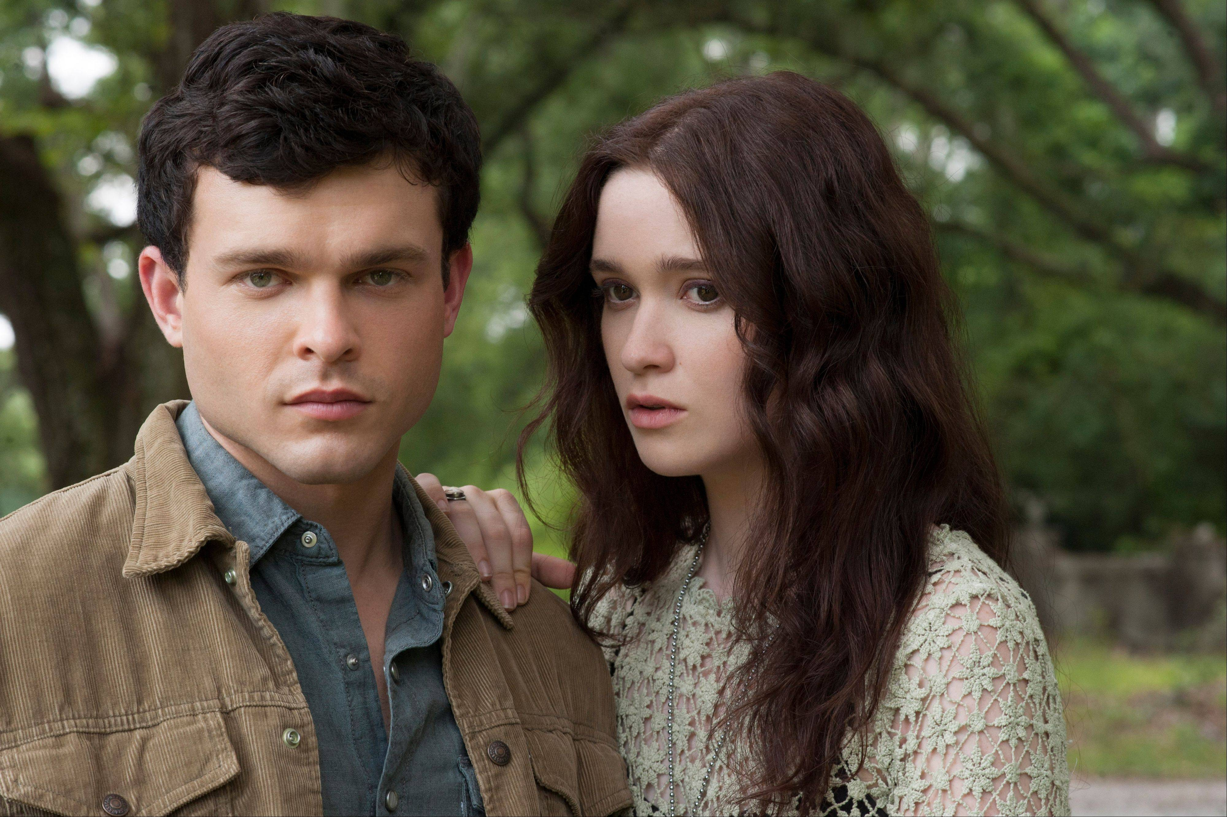 "Ethan (Alden Ehrenreich) falls for a mysterious new girl at school (Alice Englert) in the supernatural romance ""Beautiful Creatures."""