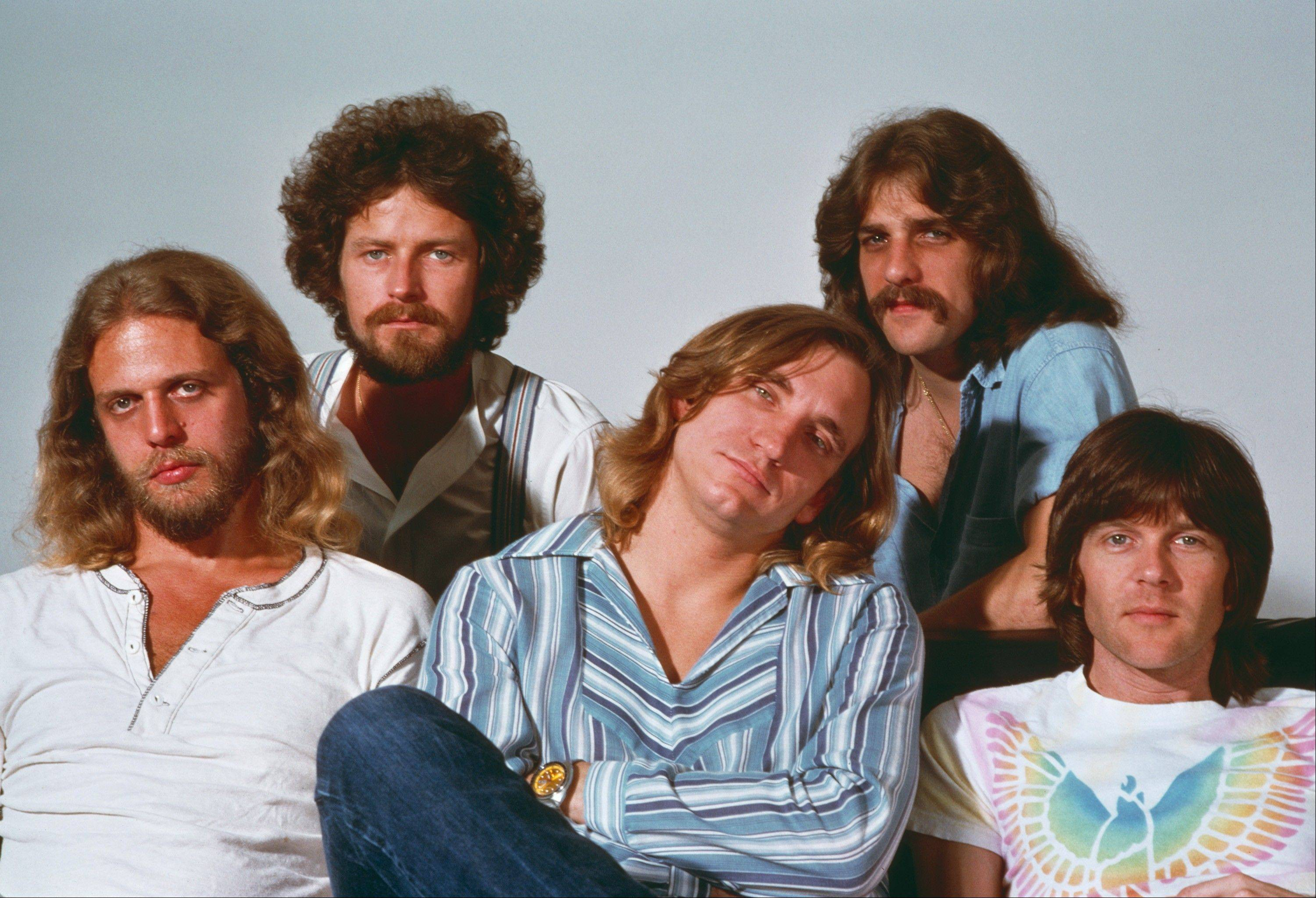 """History of the Eagles,"" airing Friday and Saturday on Showtime, explores the band from its earliest years. Pictured are Don Felder, Don Henley, Joe Walsh, Glenn Frey and Randy Meisner."