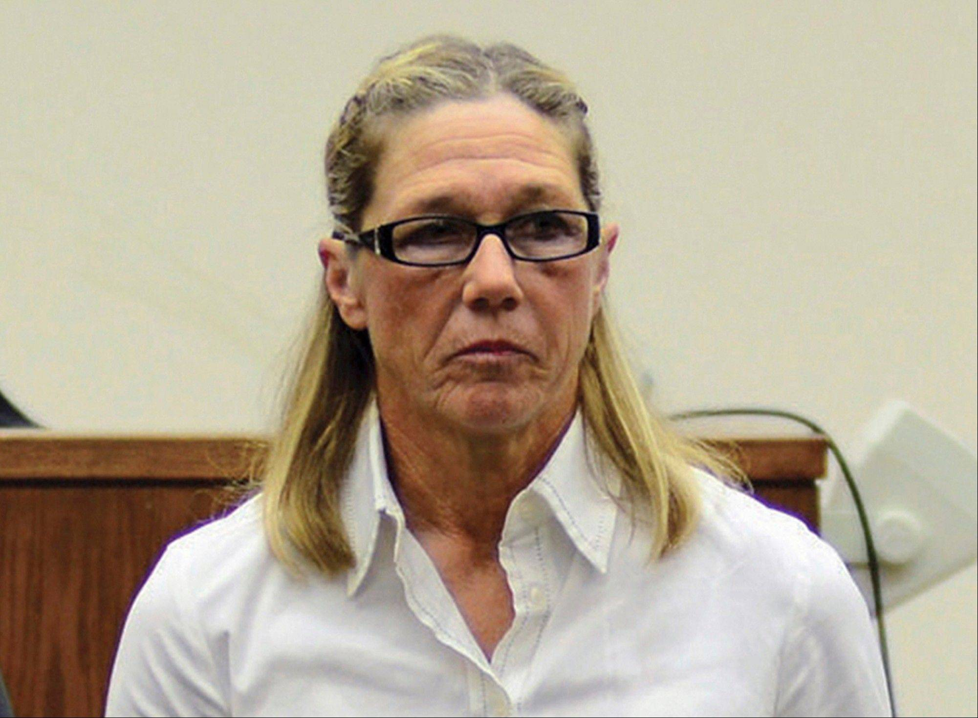 Former Dixon comptroller Rita Crundwell, seen here last October, was sentenced to nearly 20 years in federal prison and immediately taken into custody Thursday.