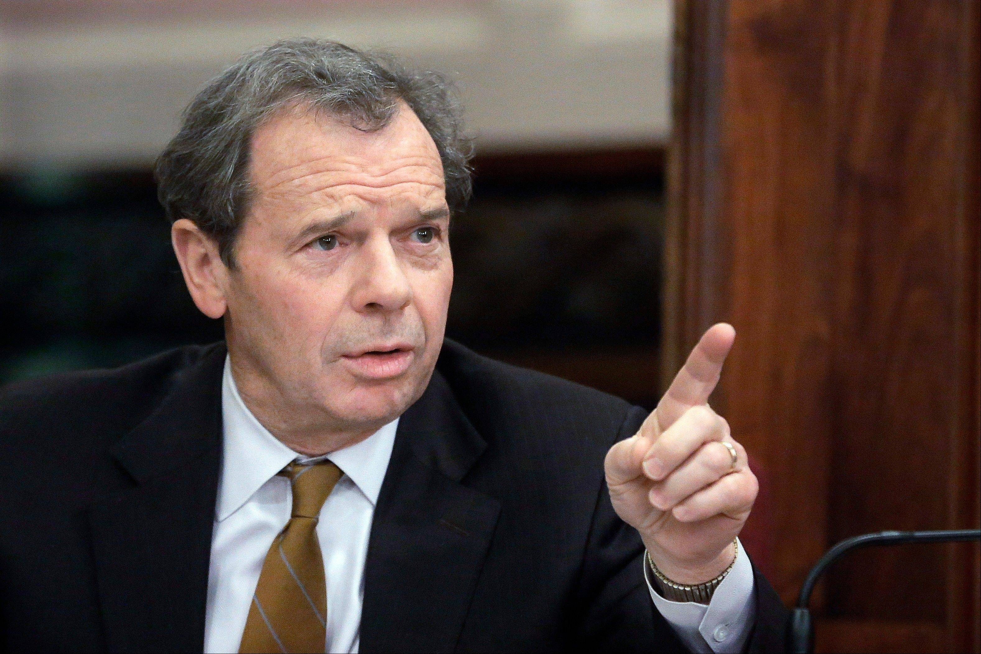 Illinois Senate President John Cullerton, a Chicago Democrat, has pushed for a Valentine's Day vote on gay marriage.