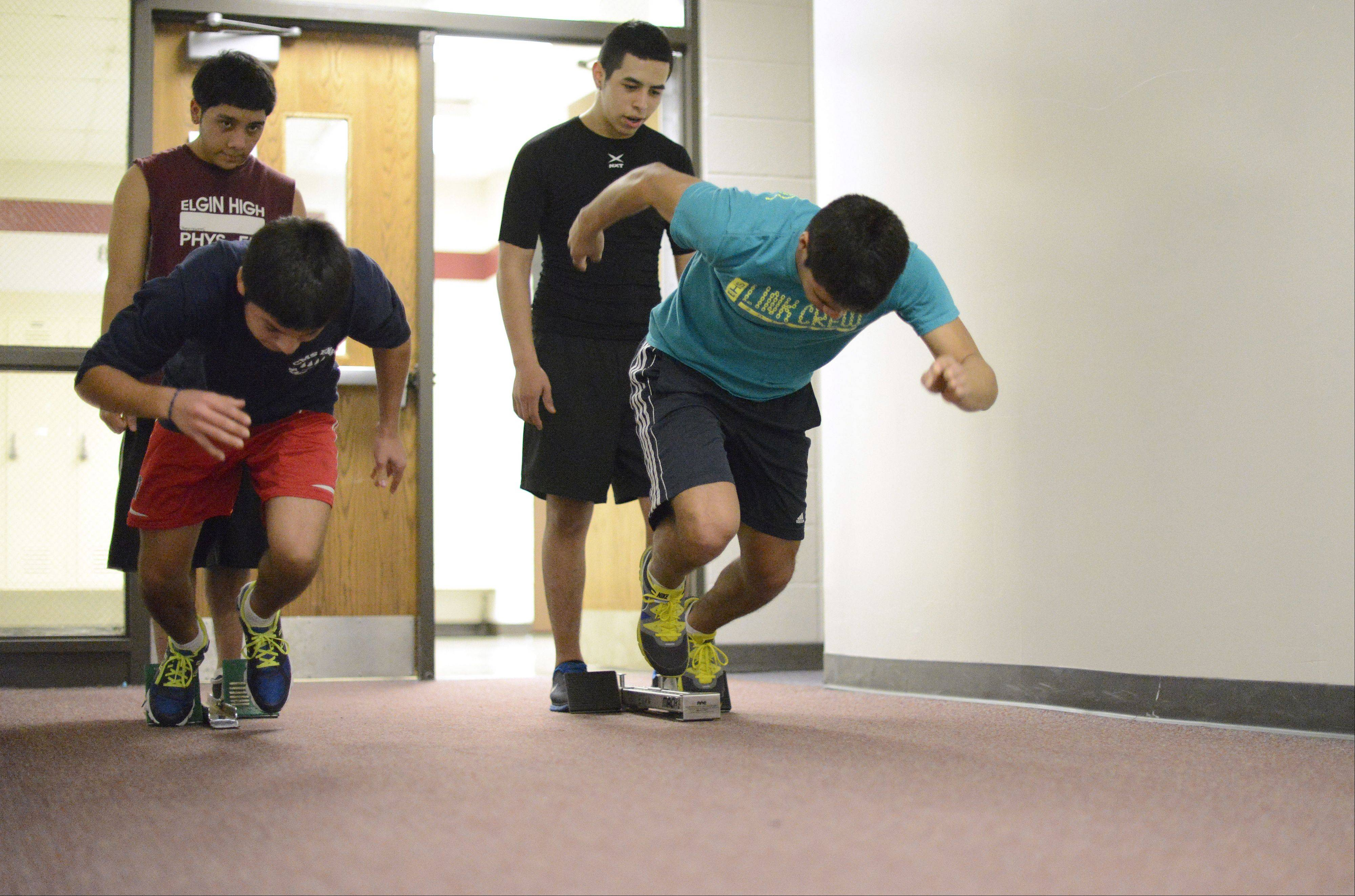 Eduardo Perez, a Elgin High School senior, has accepted a four-year scholarship to Stanford University. He's a success away from the classroom as well, serving twice as captain of the high school's soccer team and competing in track and swimming.