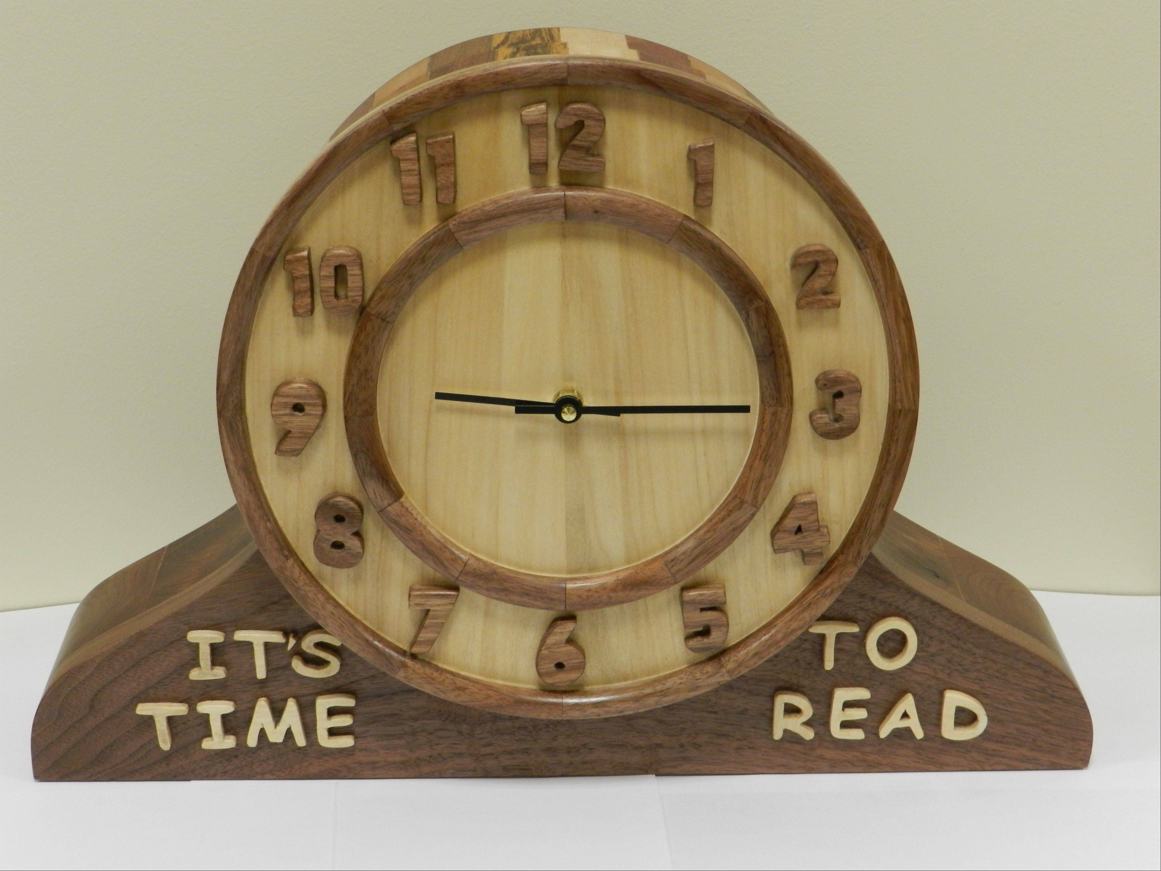 """It's Time to Read"" box is featured at the Huntley library auction."
