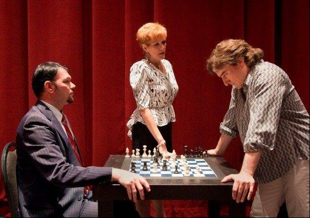 "Elgin Community College's spring musical ""CHESS"" will be presented Feb. 22-March 3 in the ECC Arts Center, 1700 Spartan Drive, Elgin."