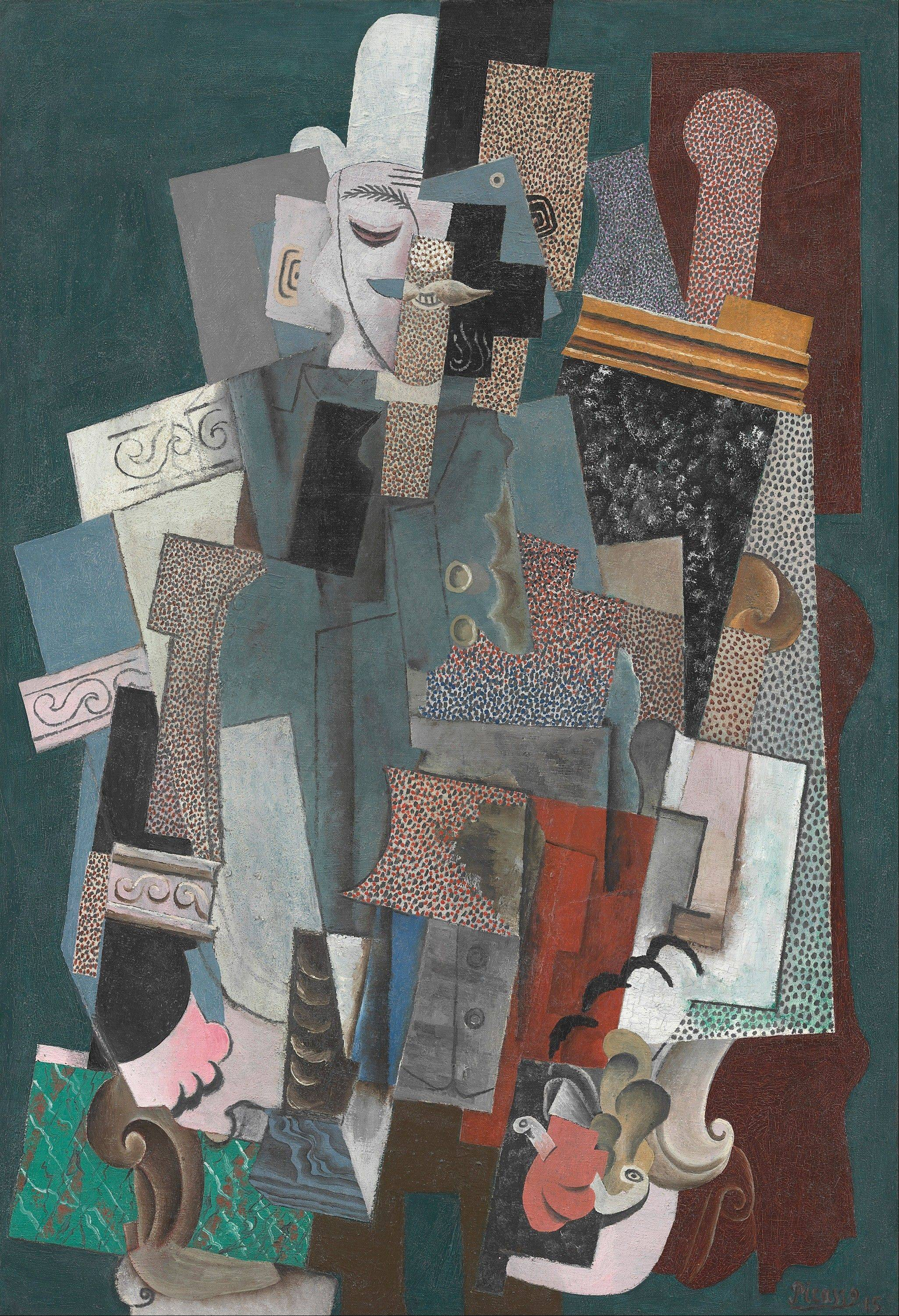 "Pablo Picasso's ""Man with a Pipe"" is part of a special Art Institute of Chicago exhibit."
