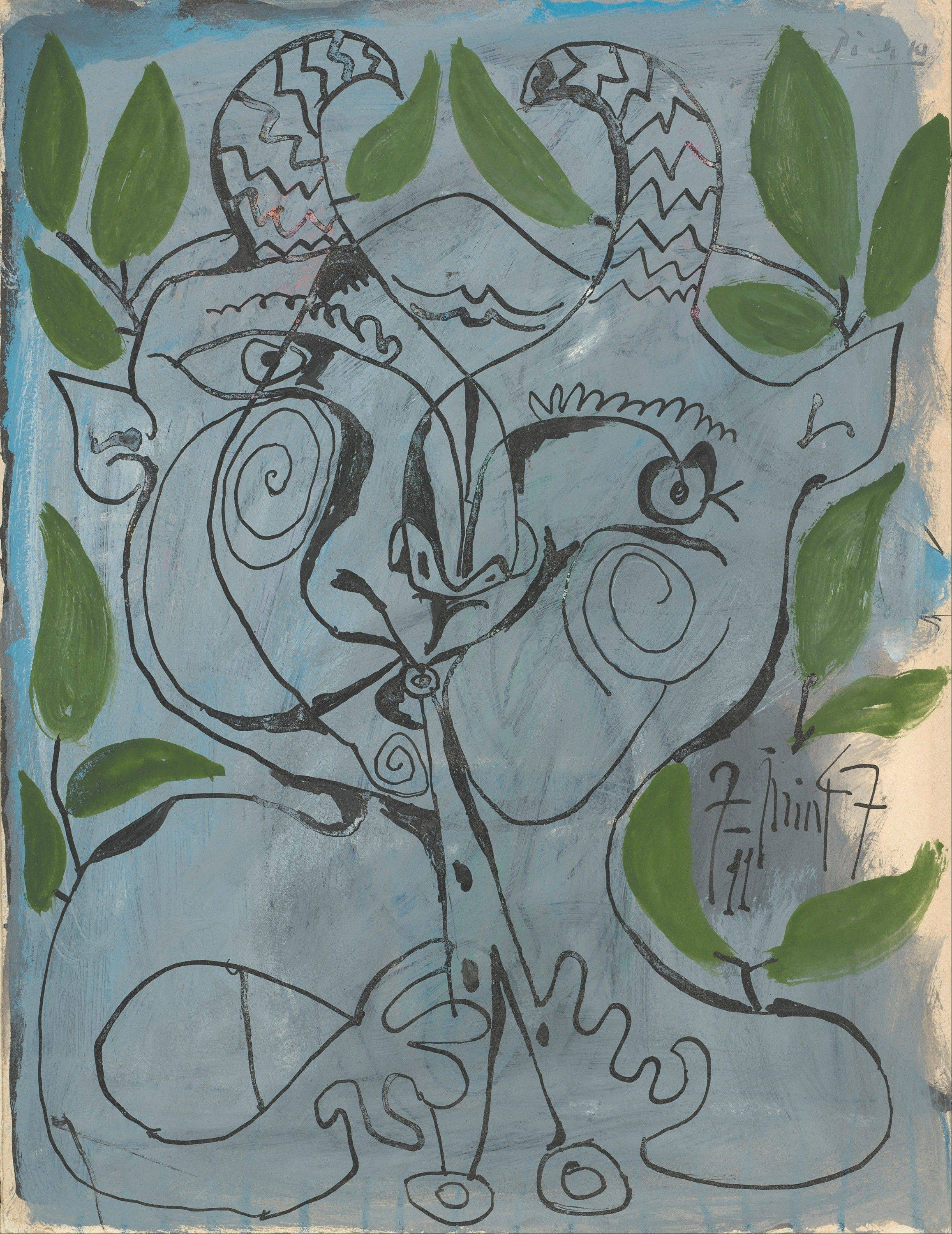 "Pablo Picasso's ""The Faun Musician"" is part of a special Art Institute of Chicago exhibit."