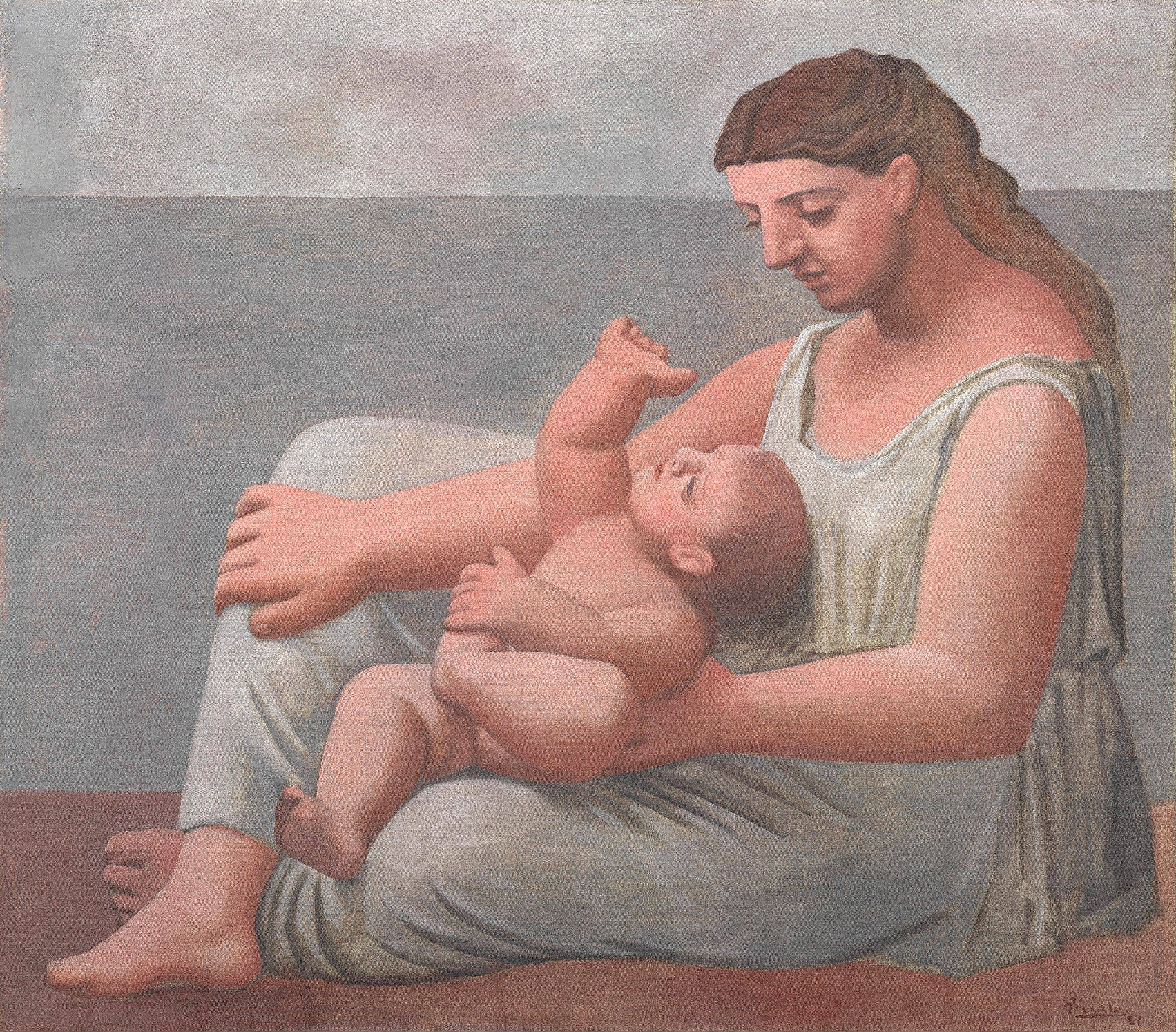 "Pablo Picasso's ""Mother and Child"" is part of a special Art Institute of Chicago exhibit celebrating the city's relationship to the famed Spanish artist."