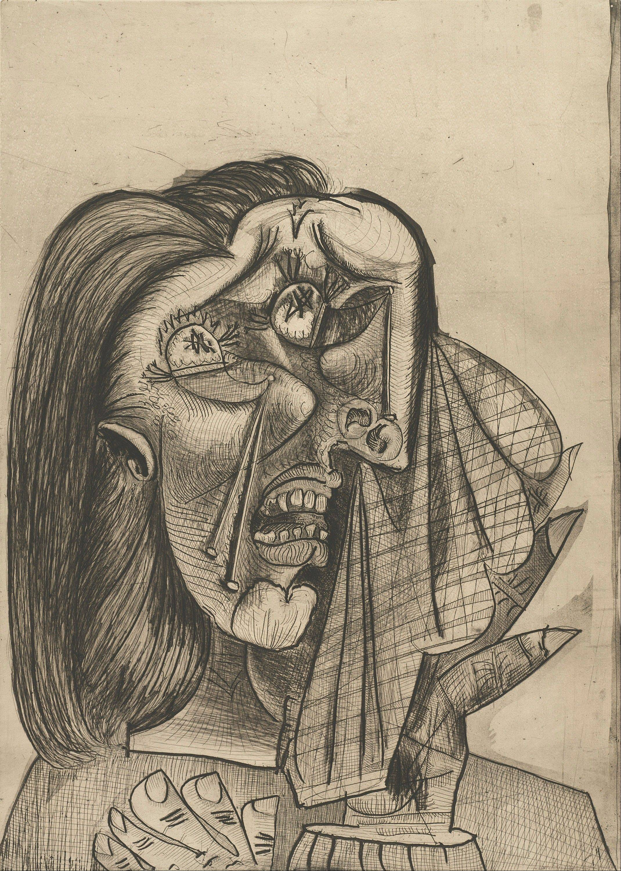"Pablo Picasso's ""Weeping Woman I"" is part of a special Art Institute of Chicago exhibit."