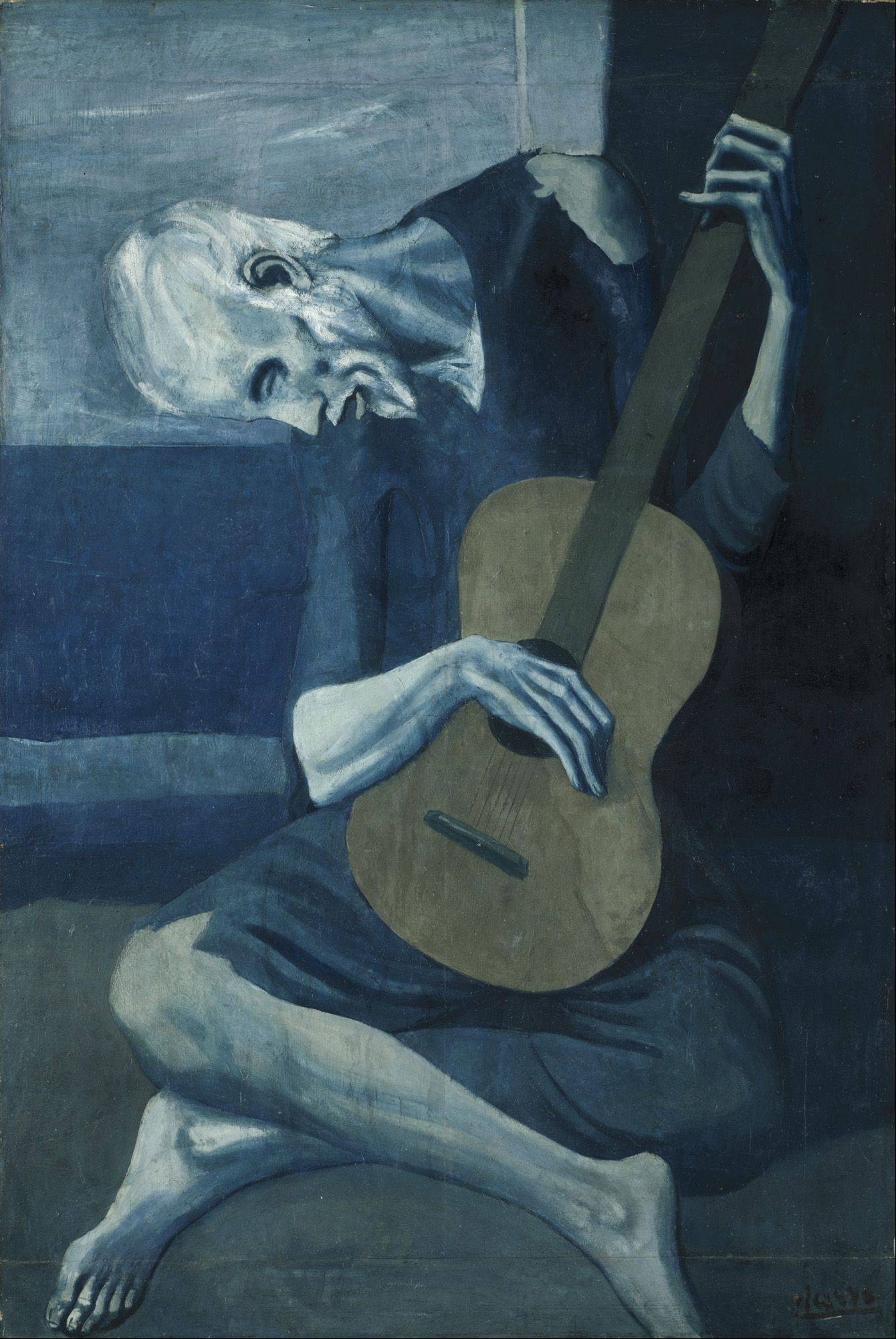 "Pablo Picasso's ""The Old Guitarist"" is part of a special Art Institute of Chicago exhibit celebrating the city's relationship to the famed Spanish artist."