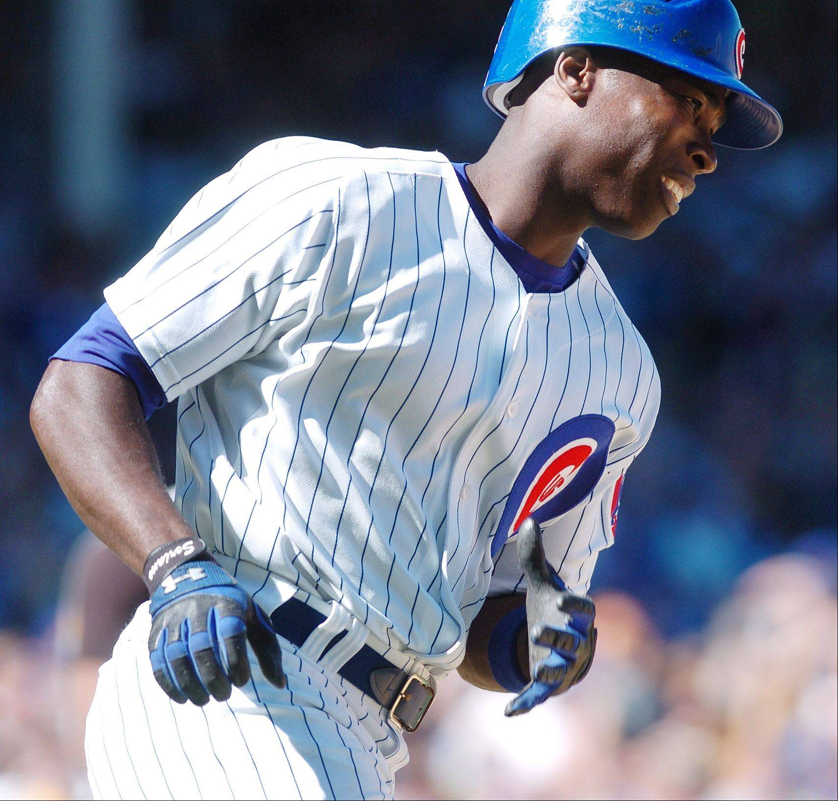 With Alfonso Soriano checking in at 40th on fangraphs.com wins above replacement rankings, you can see why Theo Epstein and Jed Hoyer don't just want to give him away.