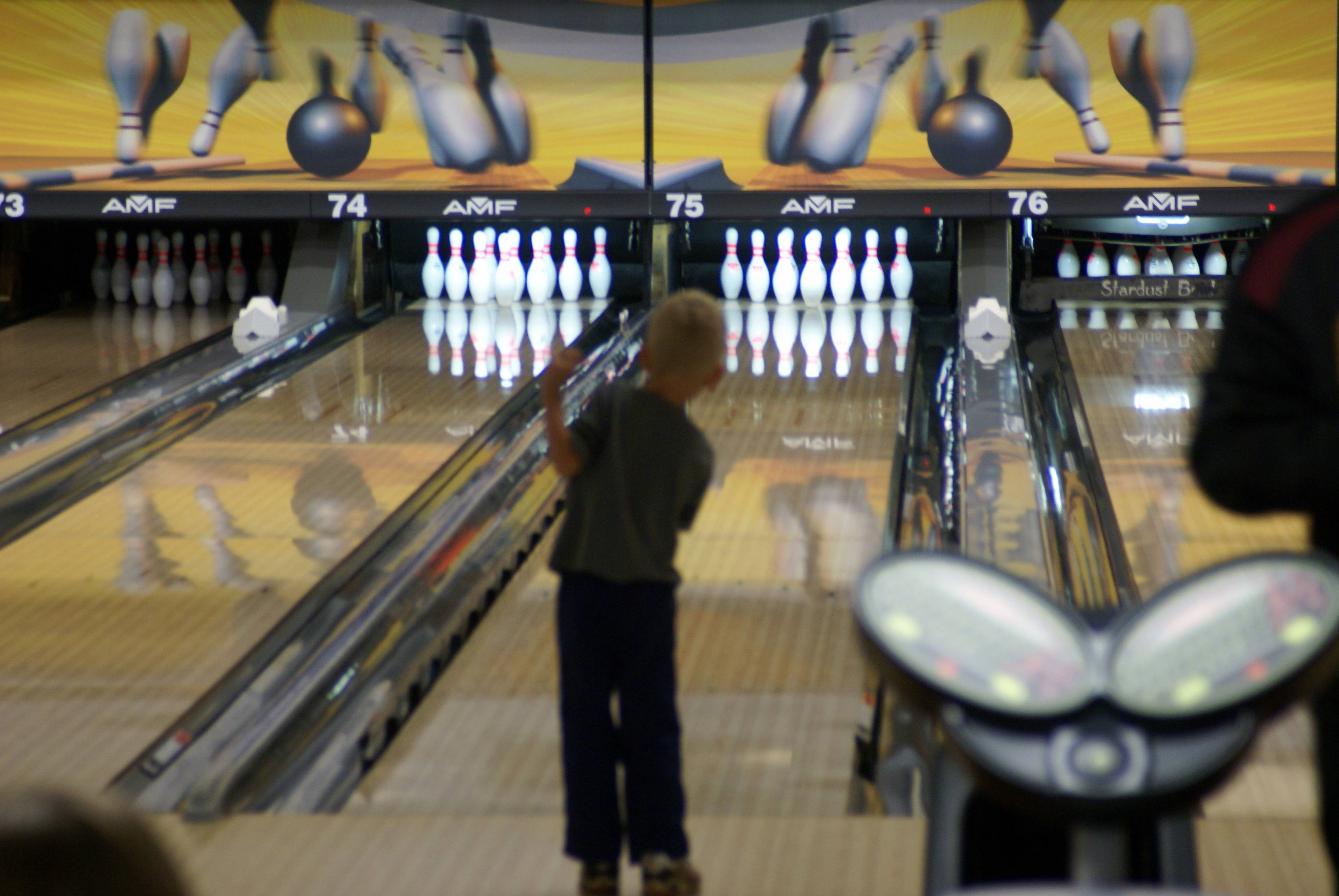 Bowlers of all ages came out for the Lutherbrook Bowl-A-Rama