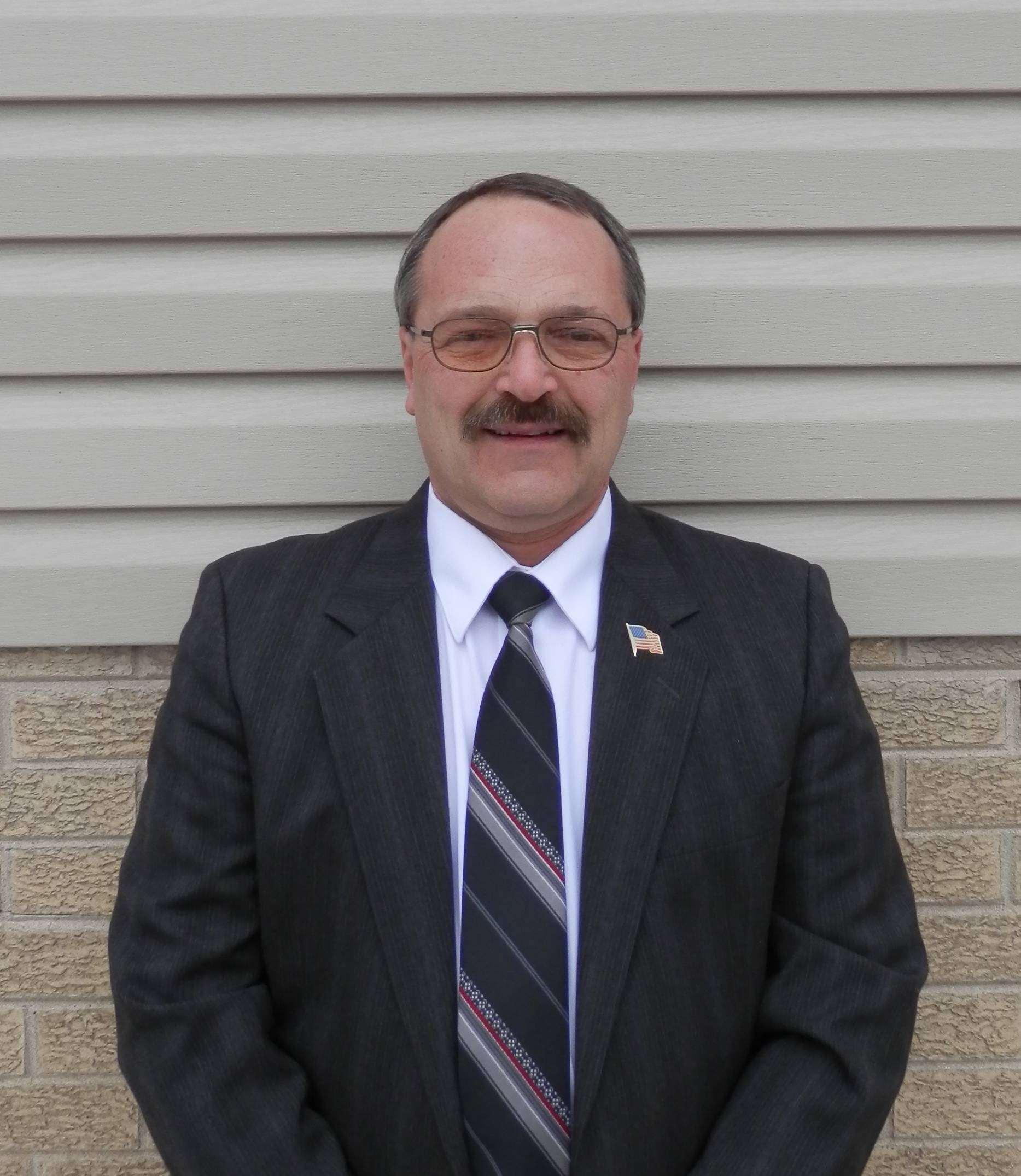 James Wozny, running for Maine Township Board (4-year Terms)