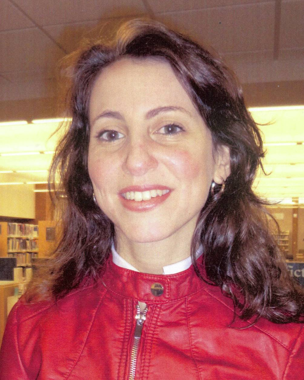 Hela Ben-Ayed, running for Cook Memorial Library Board  (4-year Terms)