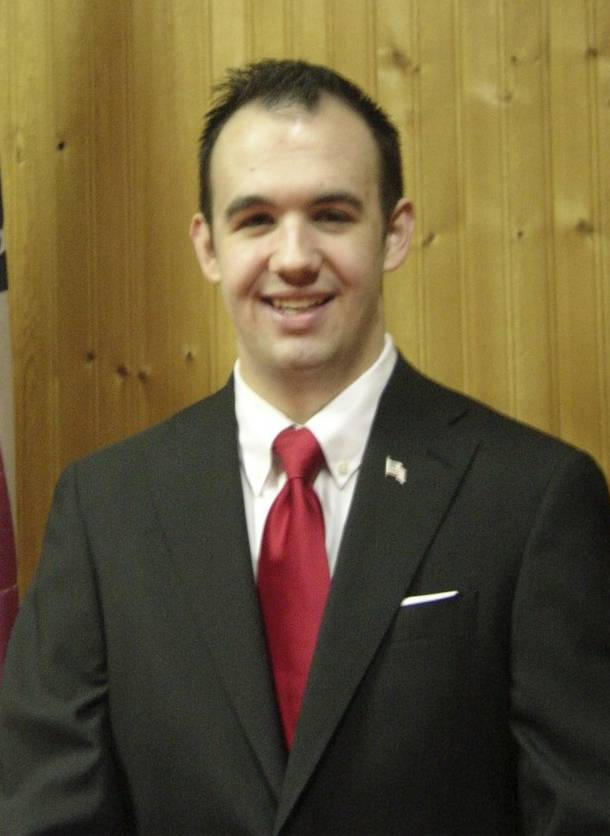 Cody Holt, running for Elgin City Council (4-year Terms)