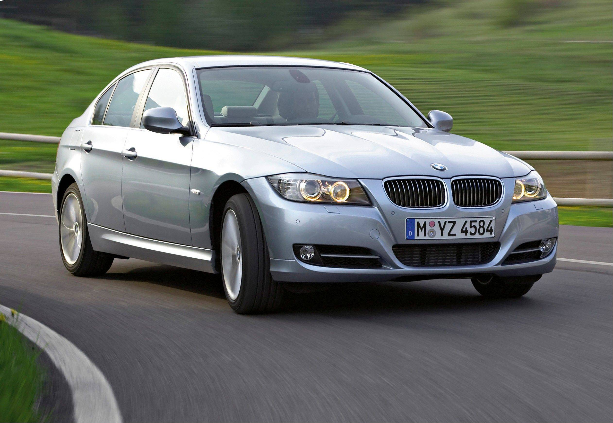 Associated Press/BMW AG The 2009 BMW 3-Series sedan.