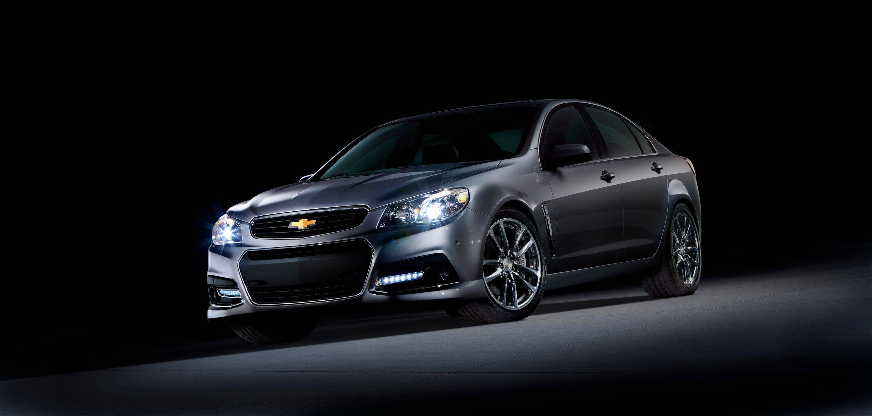 The 2014 Chevrolet SS performance sedan.