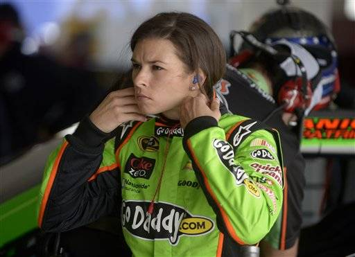 "If two practices are any indication, Danica Patrick is a solid candidate to win the pole for the Daytona 500. Patrick turned the fastest lap Saturday in a pair of practice sessions focused solely on qualifying for the Daytona 500. She went 196.220 mph around Daytona International Speedway in the second practice session and said she's eyeing the top starting spot in ""The Great American Race."""
