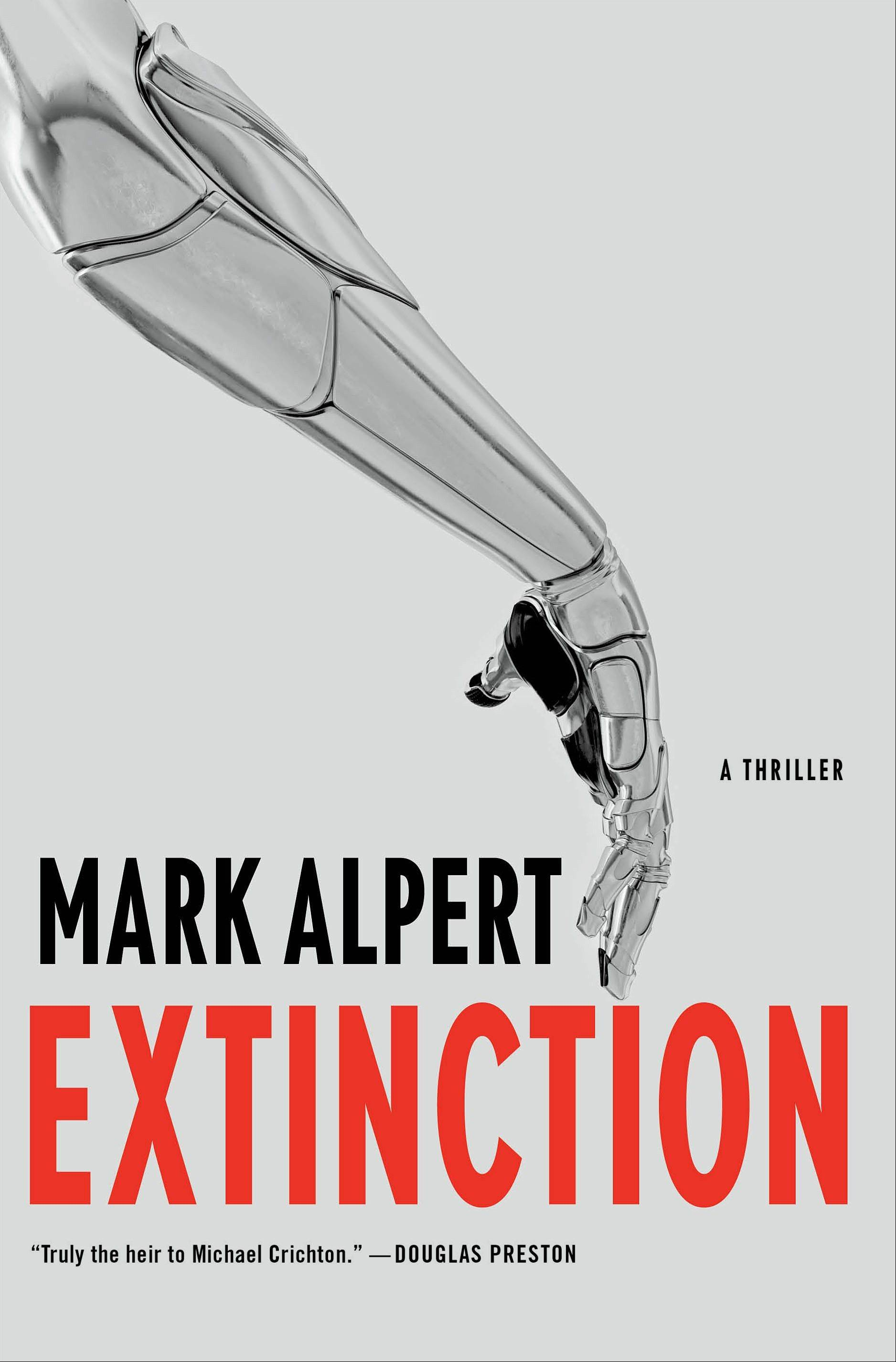 """Extinction,"" by Mark Alpert"