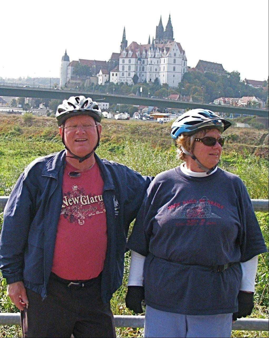 Jim and Kathleen Secora of Hoffman Estates are seasoned Road Scholar travelers. They have taken two of the company's bike-trip educational adventures in Europe.