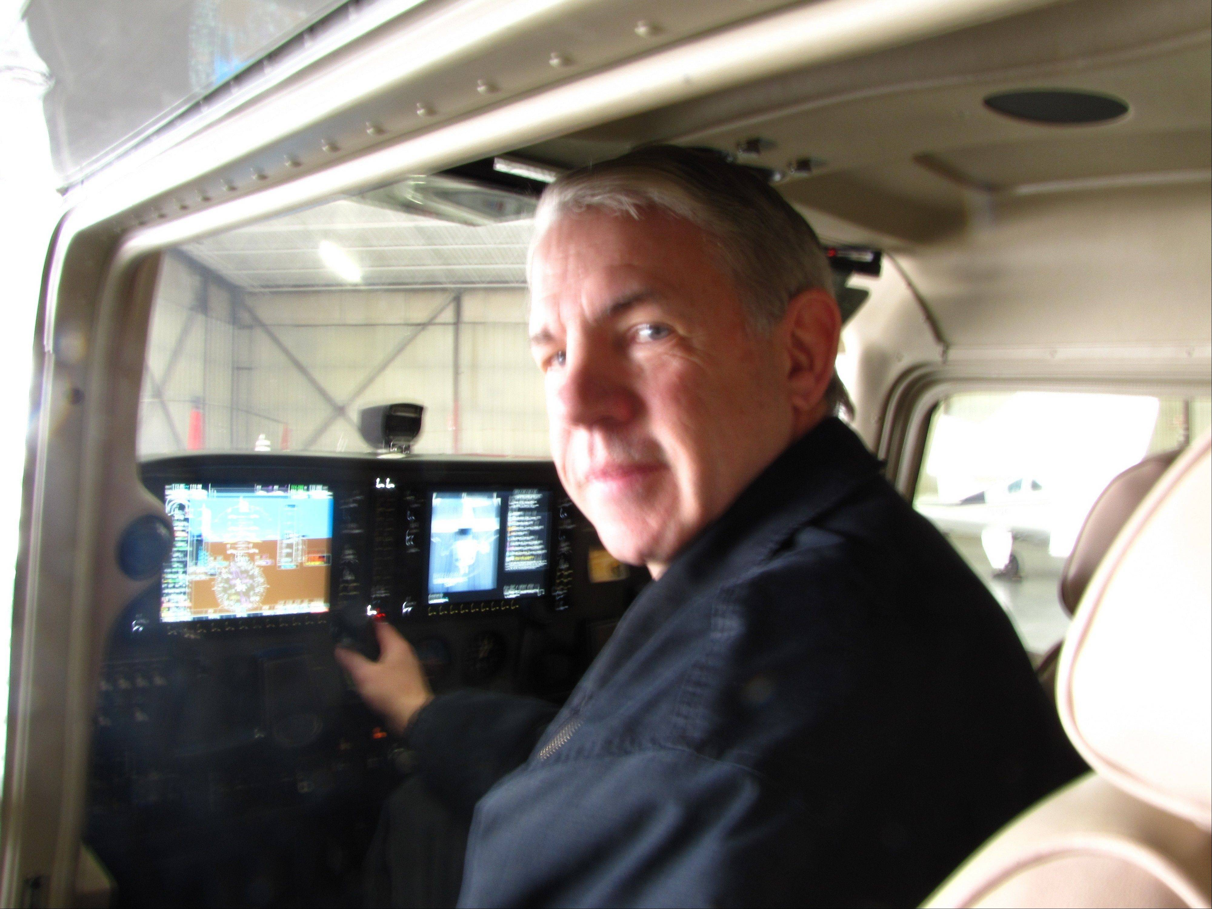 When Tom Peterson of Arlington Heights had more time after his retirement, he decided to take flying lessons with the goal of earning his private pilot's license. He chose Windy City Flyers at the Chicago Executive Airport in Wheeling for his lessons.