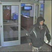 Police say this man brandished a silver handgun during a Friday afternoon robbery at the BMO Harris Bank, 130 W. Devon Ave., in Wood Dale.